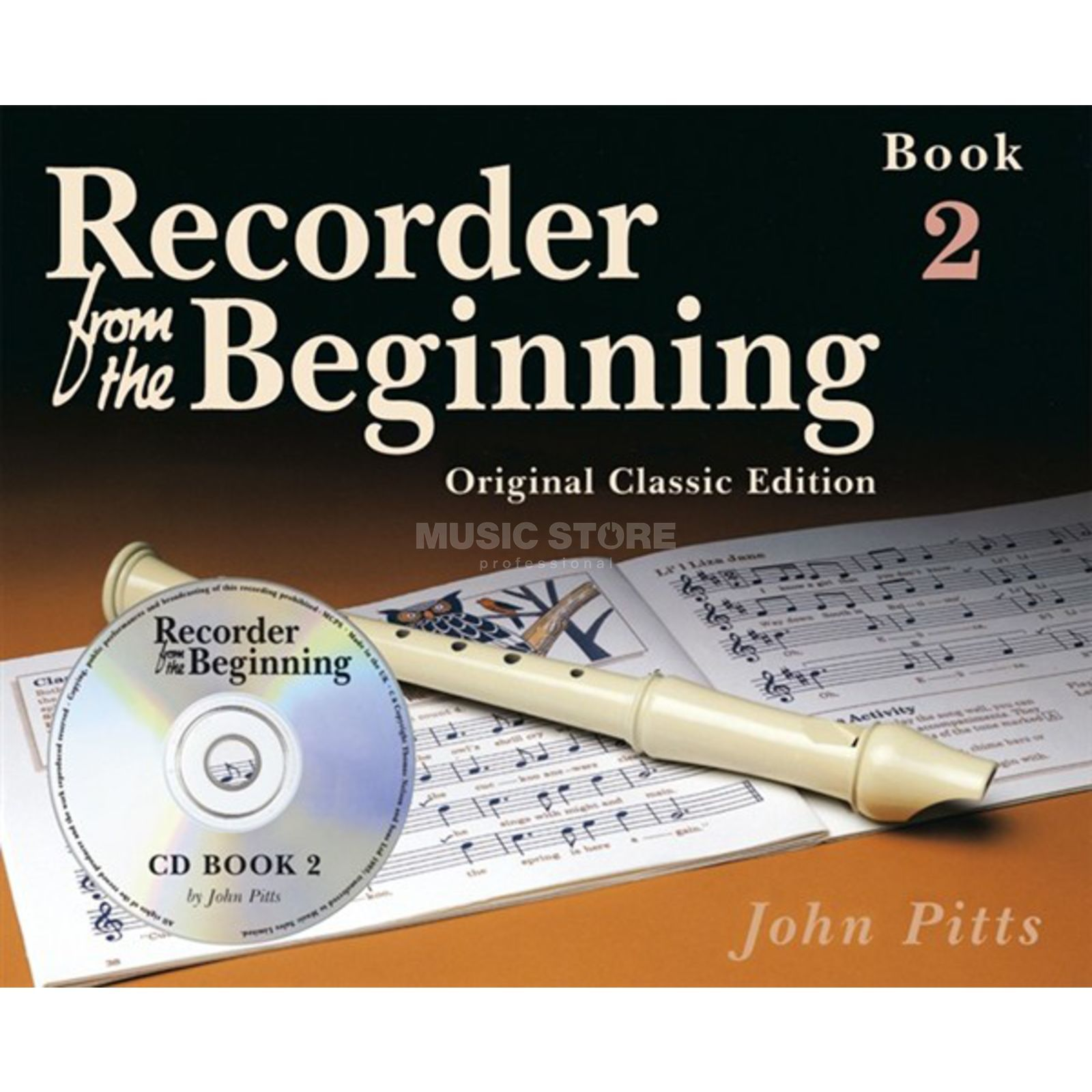 Music Sales Recorder From The Beginning 2 Pupil's Book (CD Edition) Produktbillede