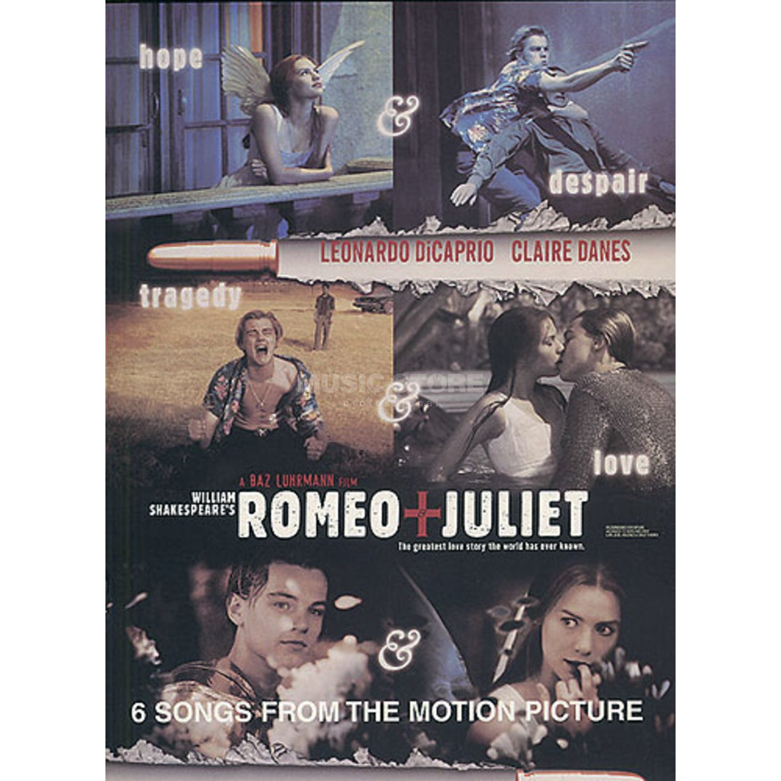 Music Sales Romeo and Juliet Motion Pictur PVG Produktbild