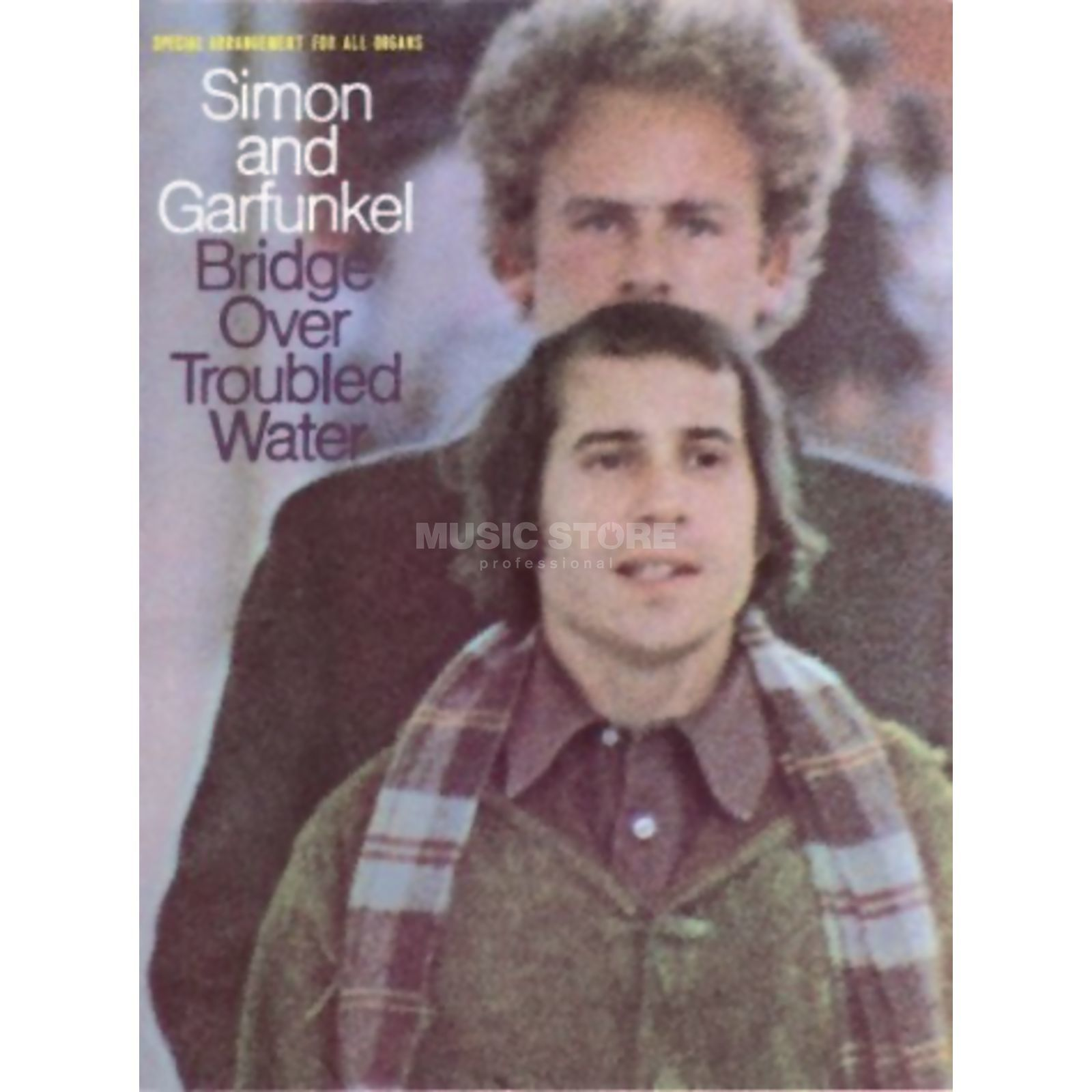 Music Sales Simon & Garfunkel- Bridge Over troubled water PVG Produktbillede