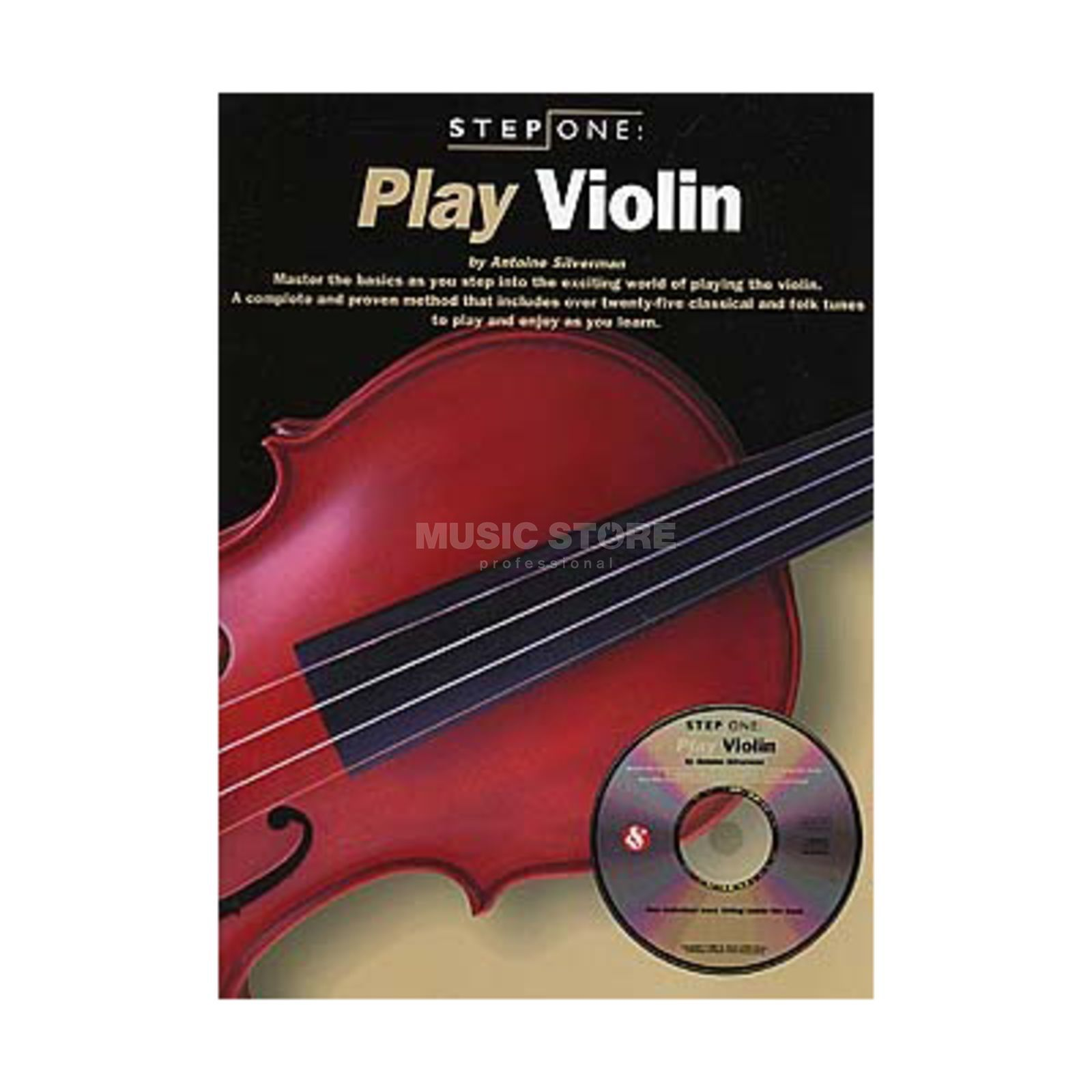 Music Sales Step One: Play Violin Book with CD Produktbild