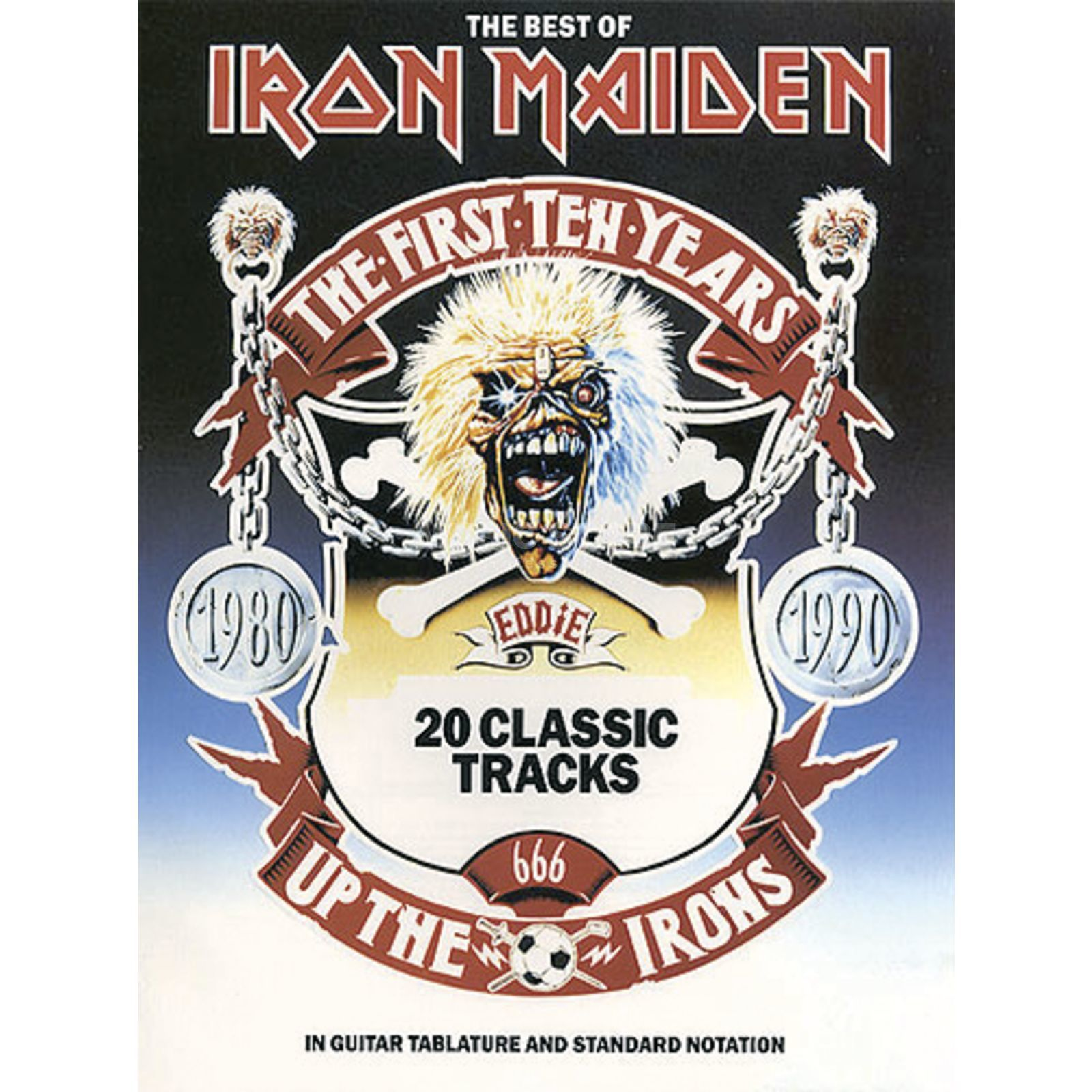 Music Sales The Best Of Iron Maiden TAB Produktbillede