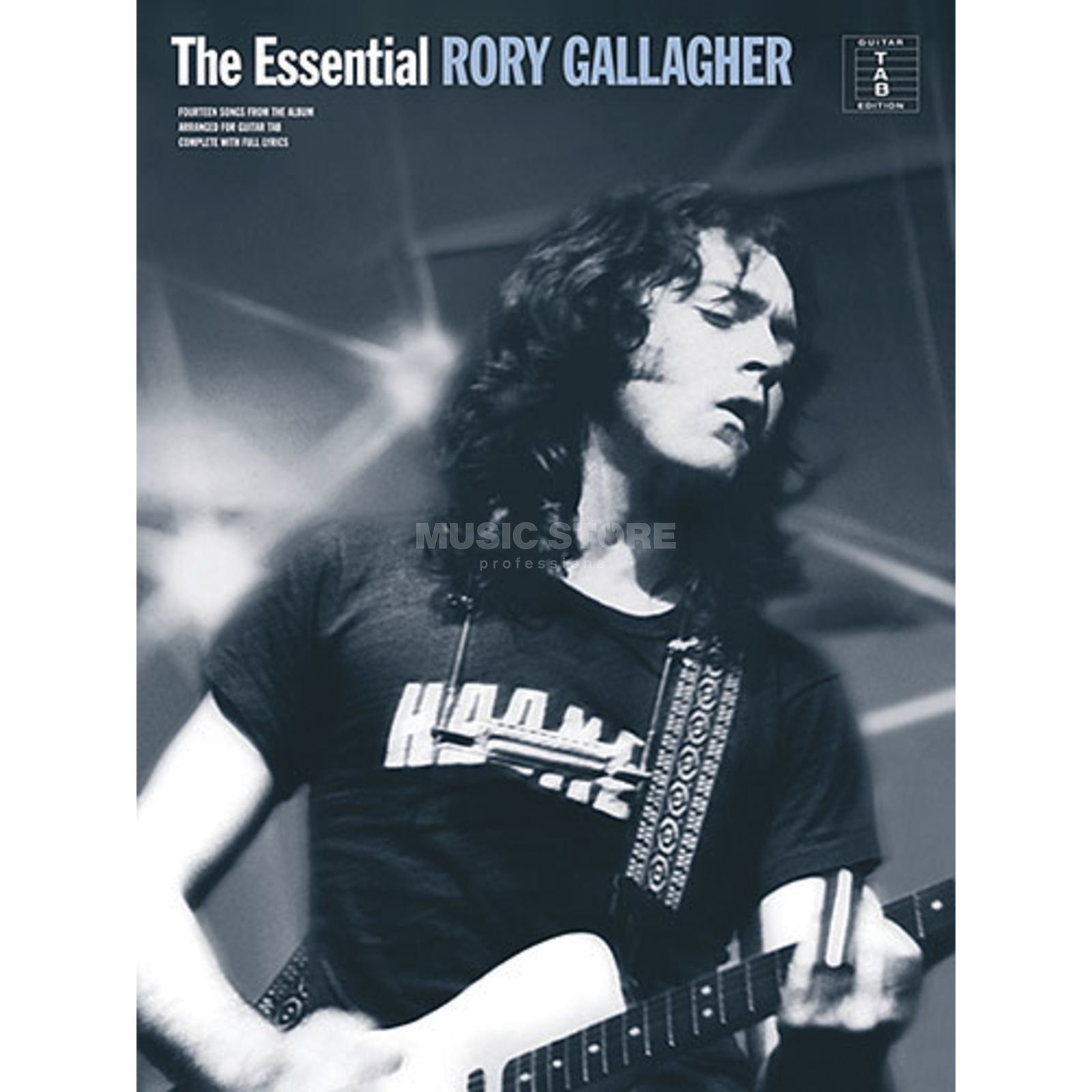 Music Sales The Essential Rory Gallagher TAB Produktbillede