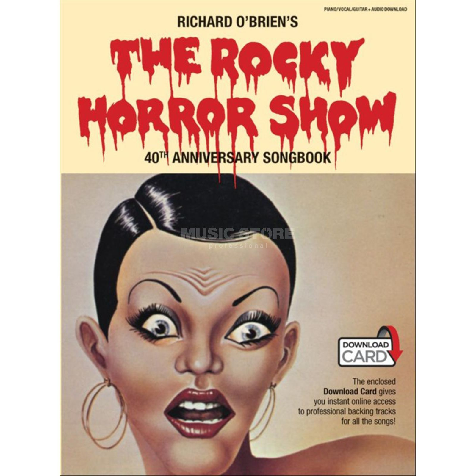 Music Sales The Rocky Horror Show 40th Anniversary Songbook Produktbild