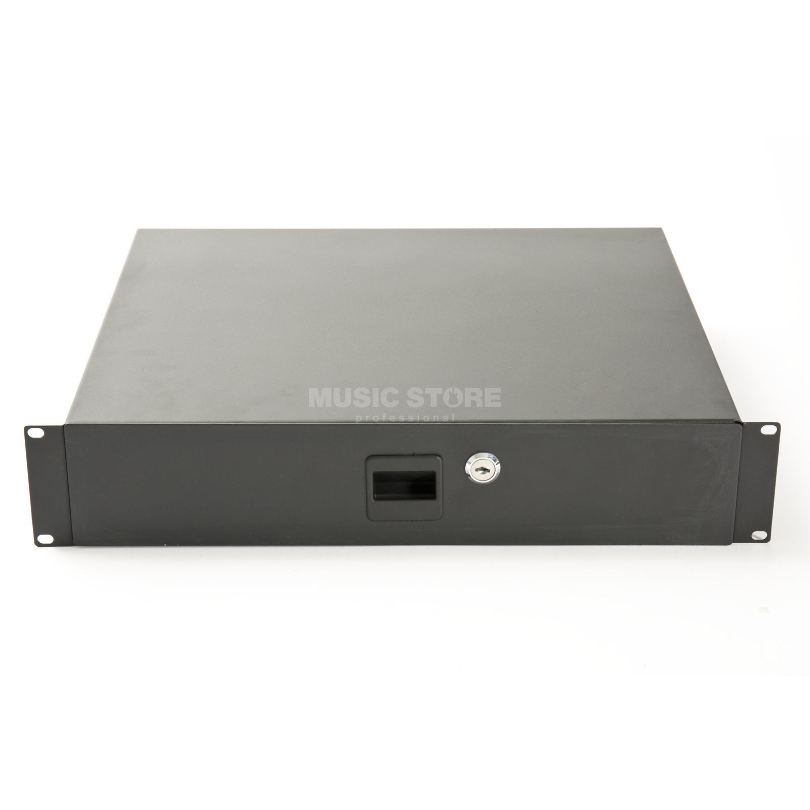 "MUSIC STORE 19"" Rack Drawer 2U lockable Zdjęcie produktu"