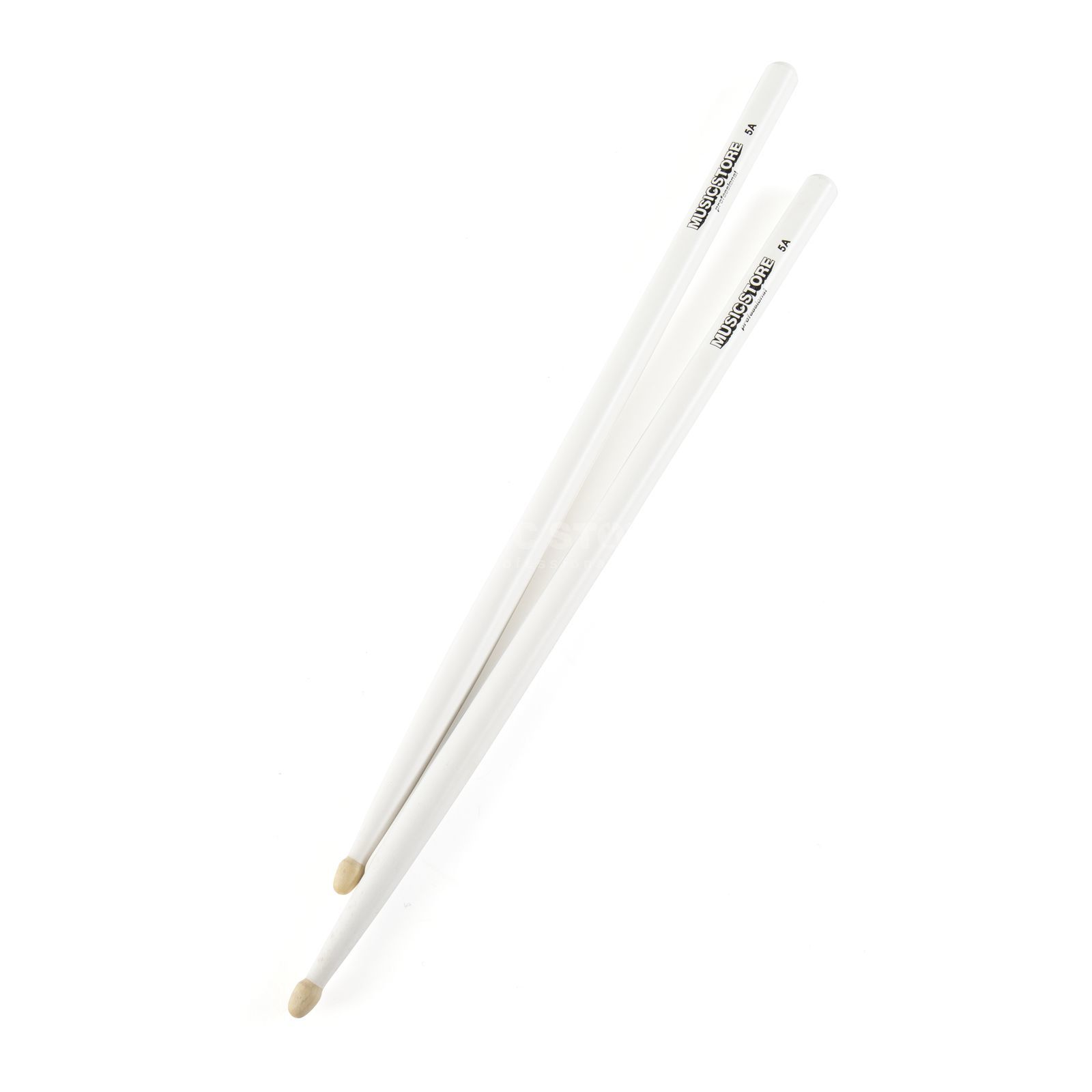 MUSIC STORE 5A Sticks, White, Hornbeam, Wood Tip Produktbild