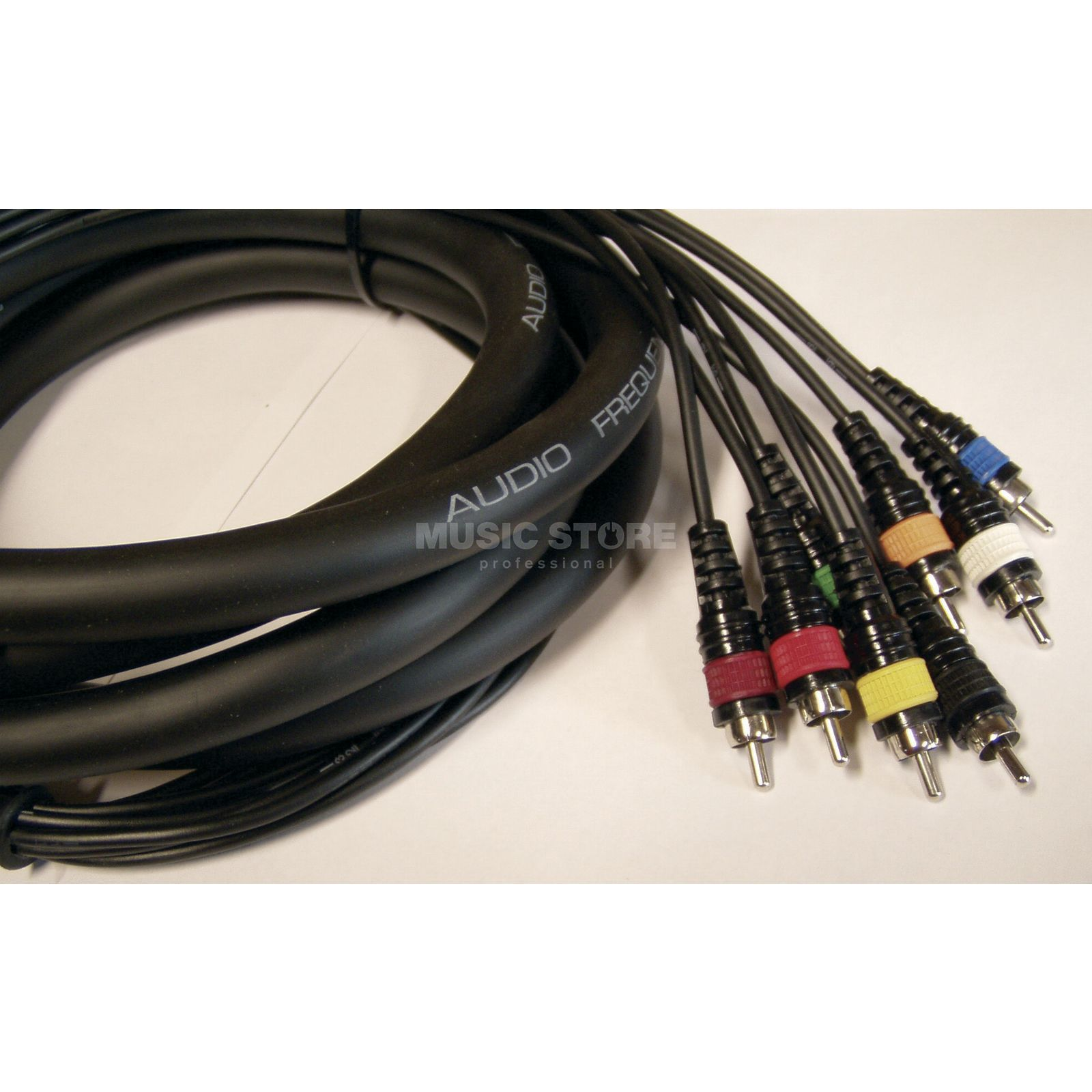 MUSIC STORE 8-fach Multicore, 3m RCA - RCA Product Image