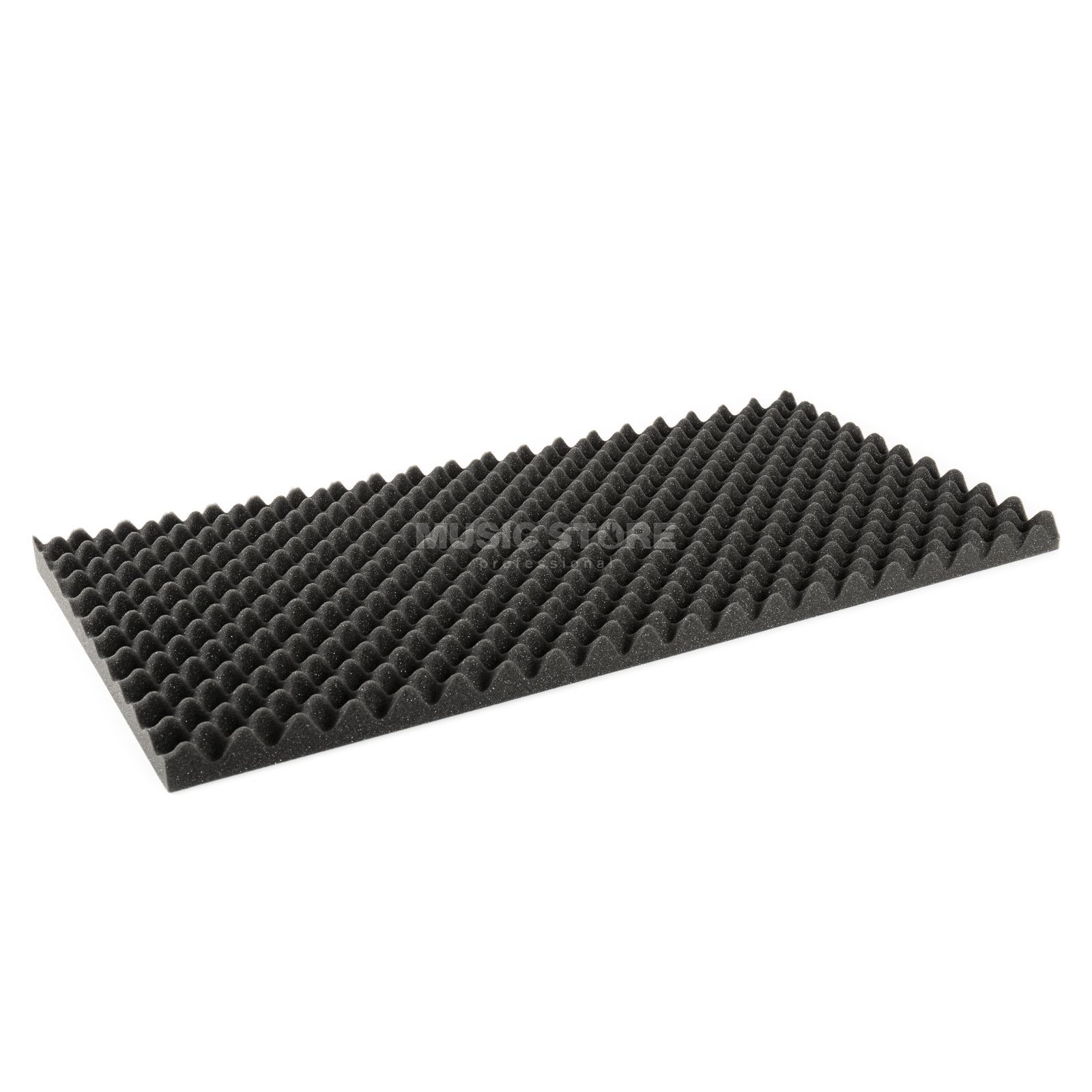 MUSIC STORE Absorbing Acoustic Foam 50x100cm, 4cm, Anthracite Produktbillede