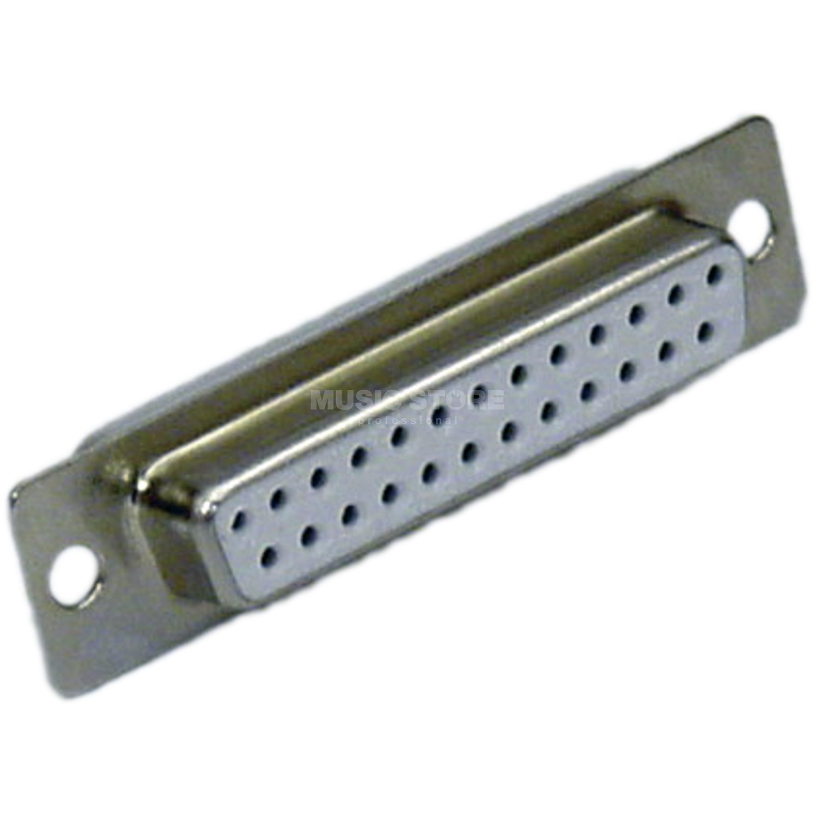 MUSIC STORE D-SUB 25-Pol Metall Connector  25-Pol Gold pins Produktbillede