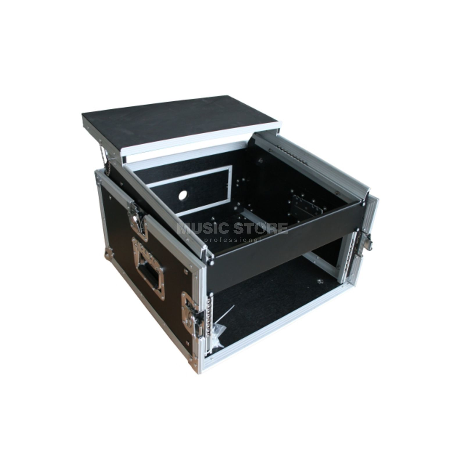 "MUSIC STORE Digital DJ Case 3, 19"" L-Rack 4HE/10HE + Laptop Shelf Produktbillede"