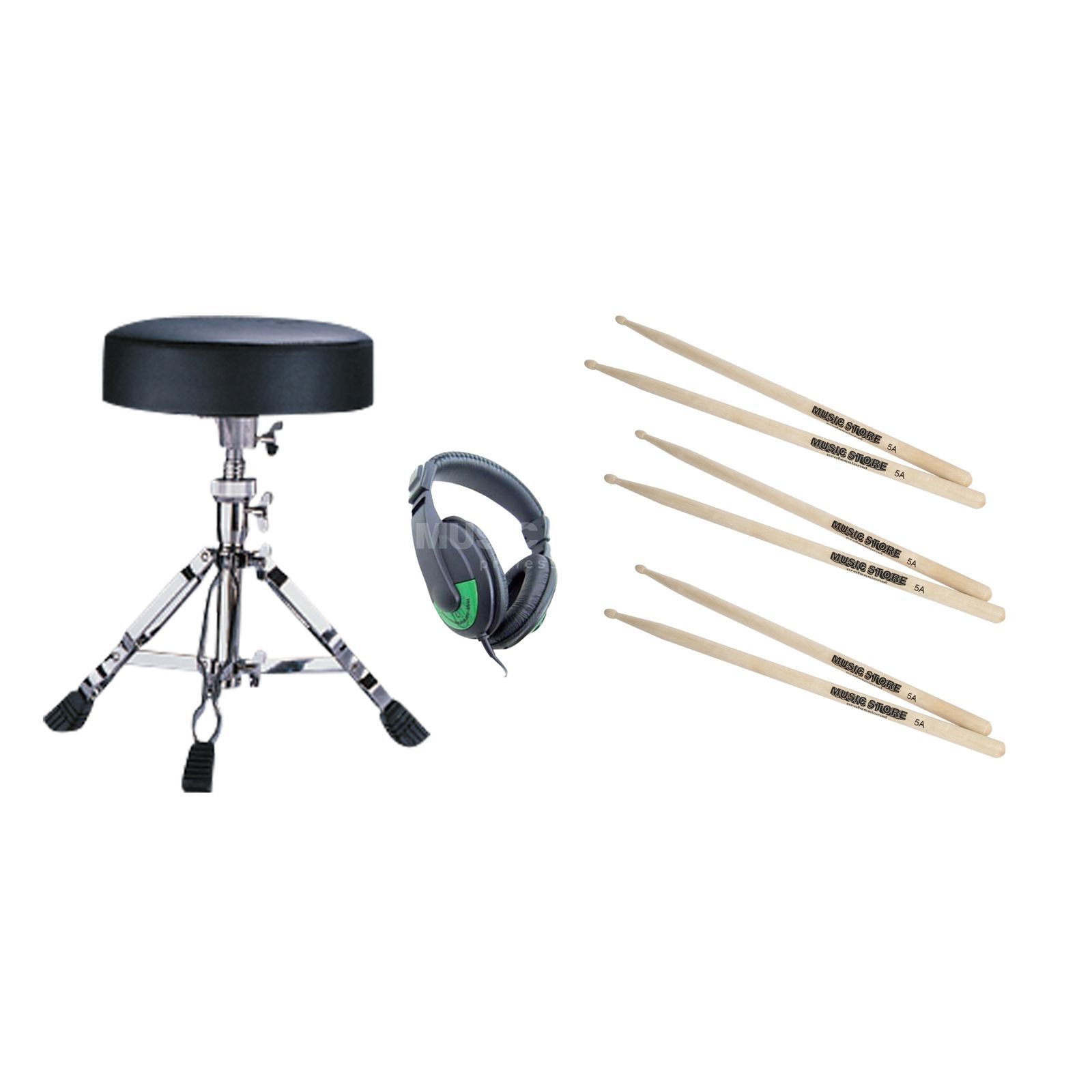 MUSIC STORE E-Drum ACC Pack 1 - Set Produktbillede