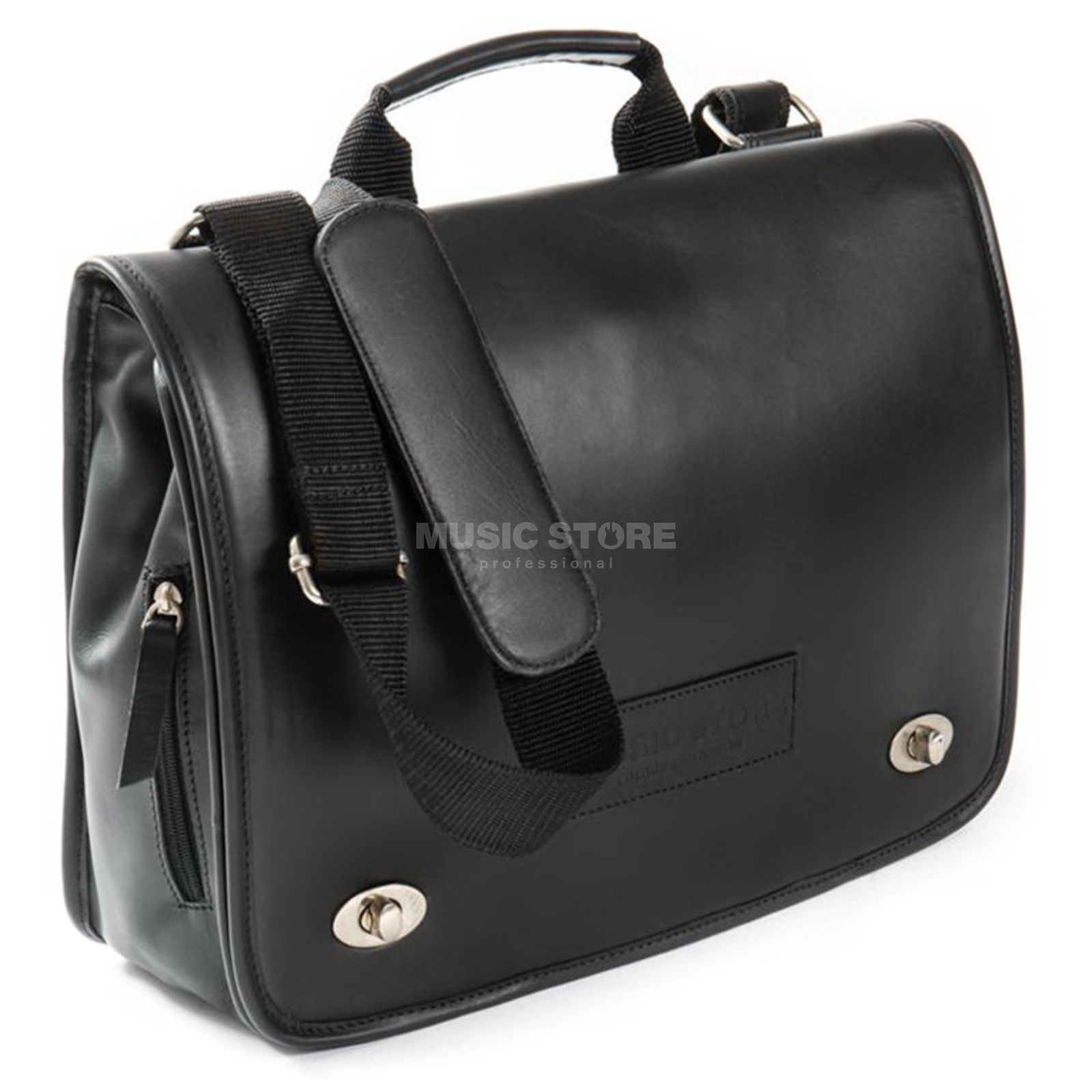 MUSIC STORE Executive Bag Leather Black EXB-01MBK/L Imagem do produto