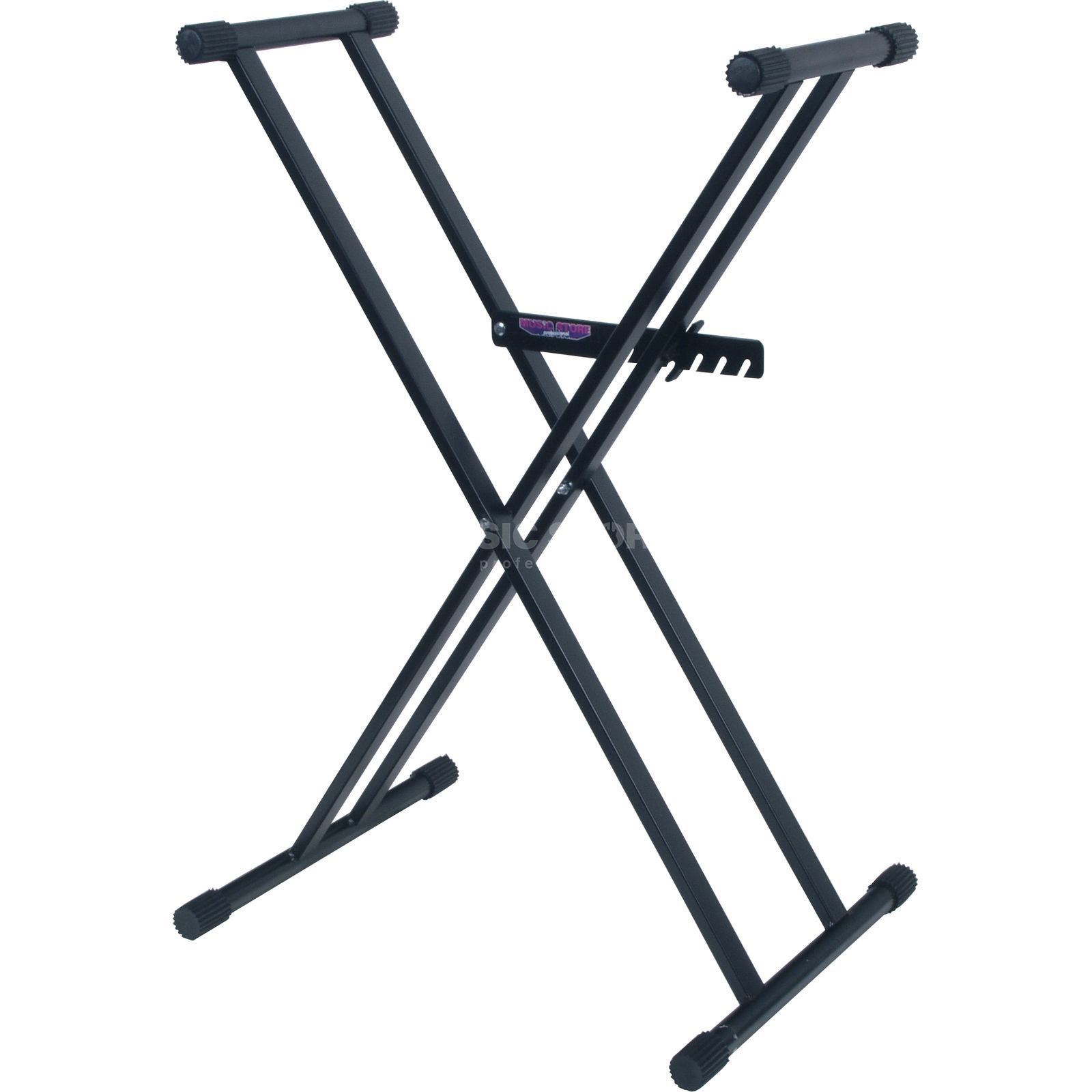 MUSIC STORE KB-2P Double Braced X-Frame Keyboard Stand Product Image