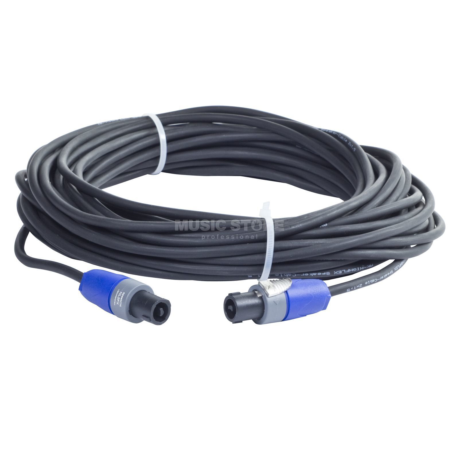 MUSIC STORE LS-Kabel 20m Speakon PRO 2x 1,5mm², Neutrikstecker Produktbild