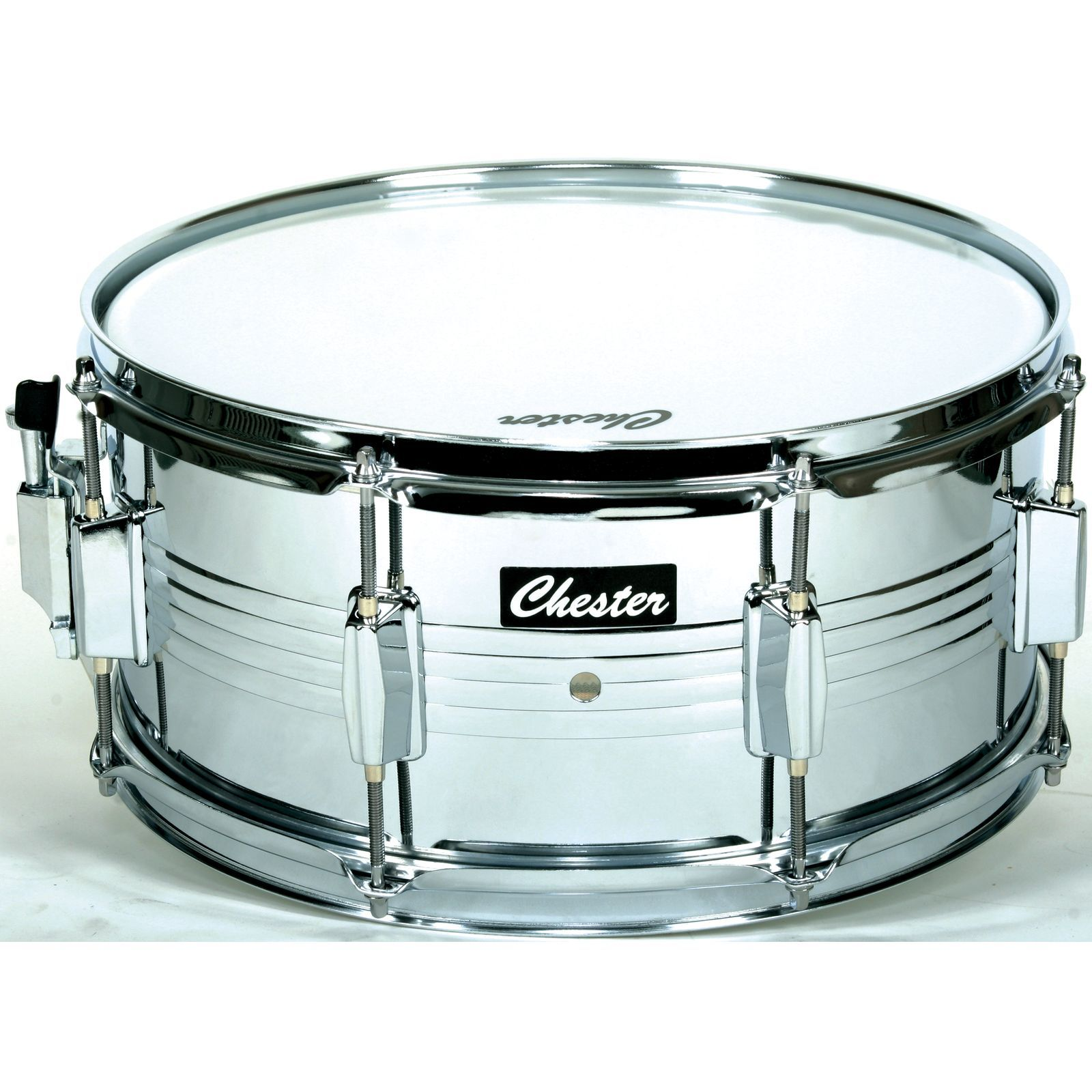 "MUSIC STORE Marching Snare, 14""x6.5"", Metal Product Image"