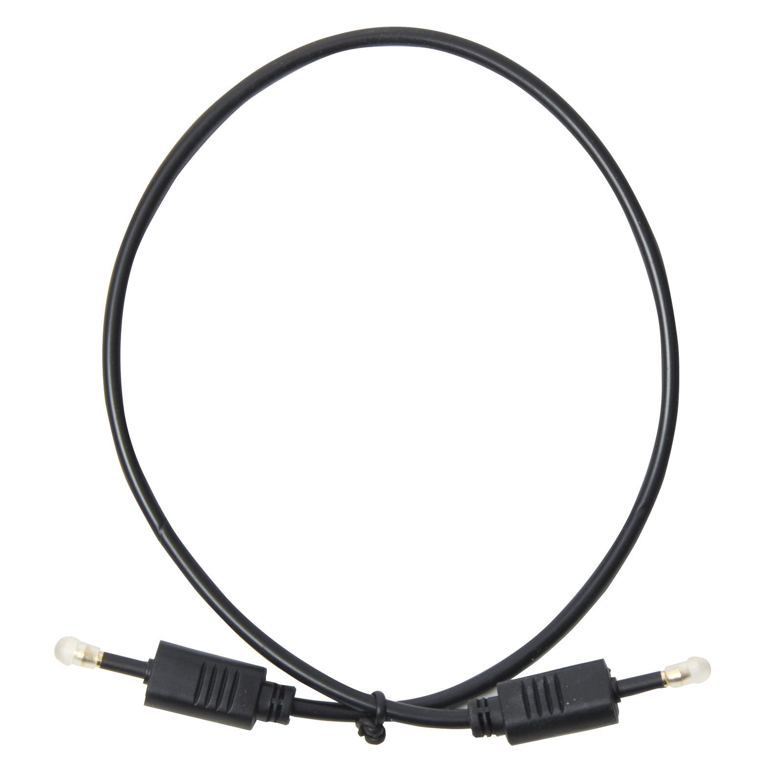 MUSIC STORE Optical Cable 0,5m 3,5mm => 3,5mm opt. Klinke Produktbild
