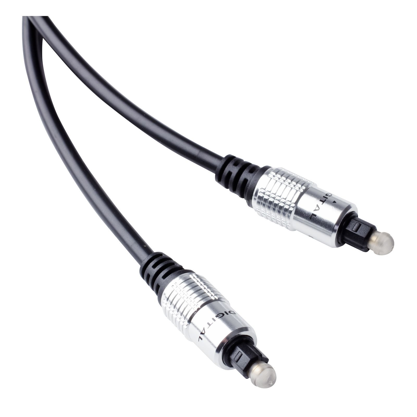 MUSIC STORE Optical Cable 2m Premium Toslink male => male Produktbild
