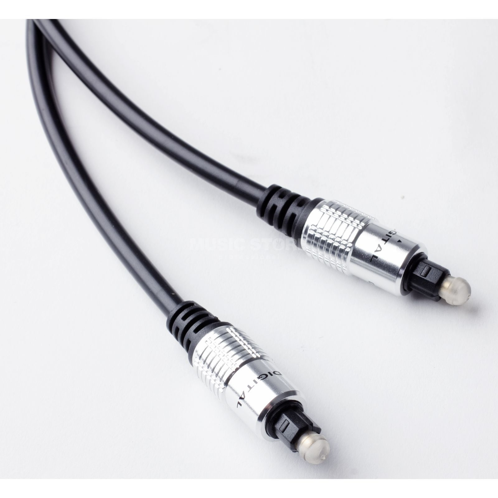 MUSIC STORE Optical Cable 7,5m Premium Toslink male => male Produktbild