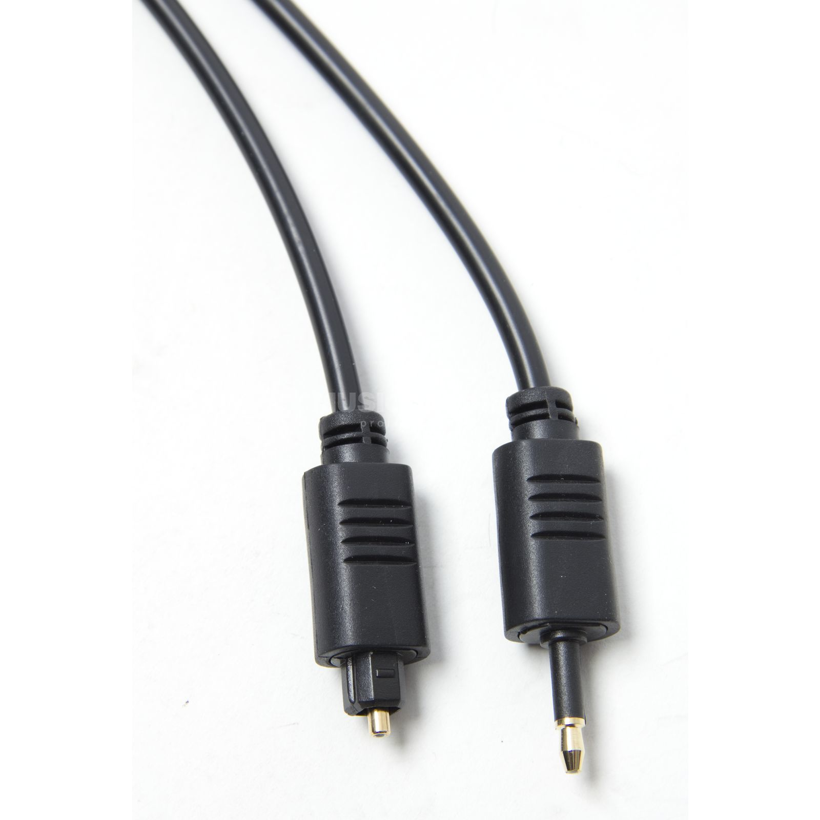 MUSIC STORE opticales Cable 1m Toslink male/3.5mm opt. Jack Produktbillede
