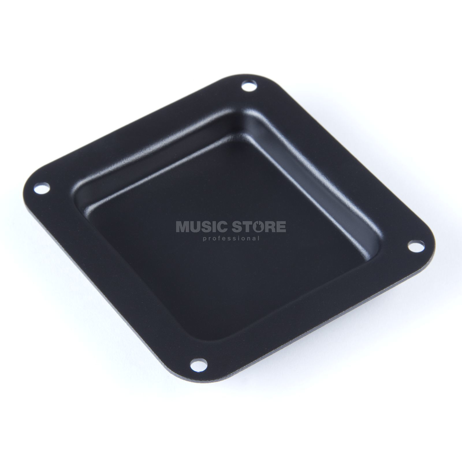 MUSIC STORE Shelve - without holes - Black 112 x - 102 mm Produktbillede