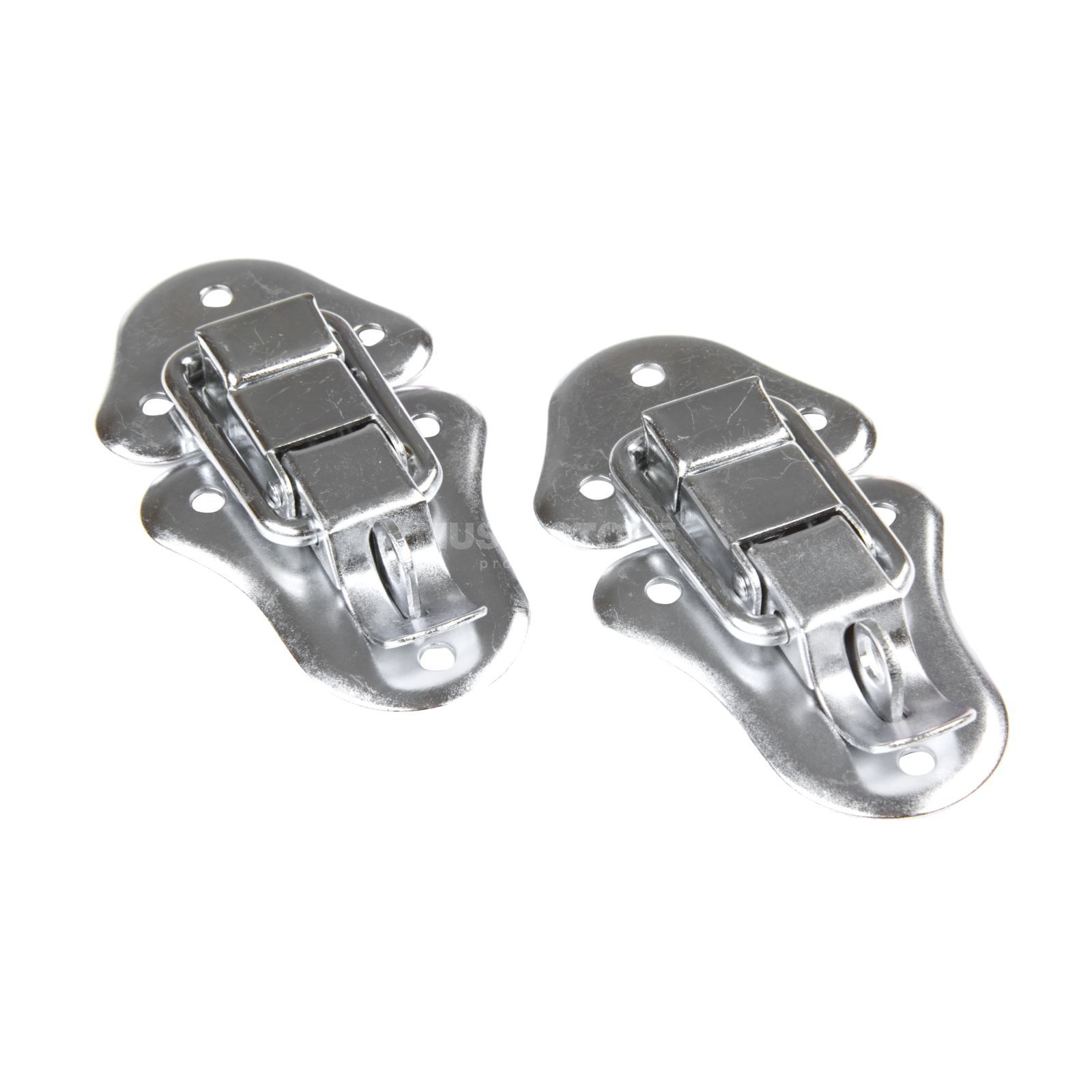 MUSIC STORE Snap Lock with Eyelet (pair) galvanized Produktbillede