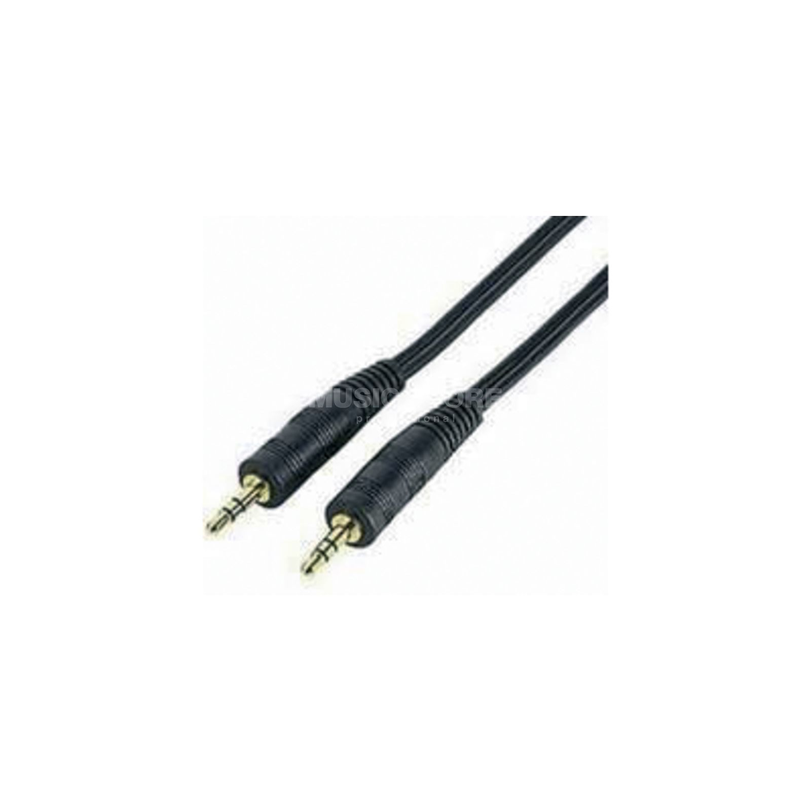 MUSIC STORE Stereo Minijack Cable 1,5m  Produktbillede