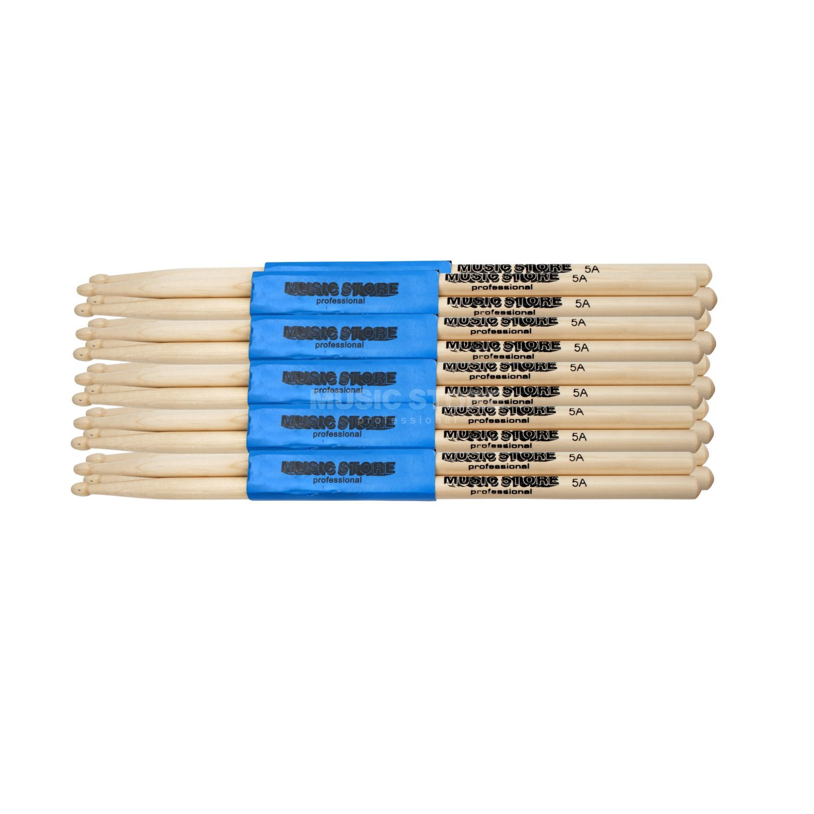 MUSIC STORE Sticks Bundle 12x 5A - Set Produktbild