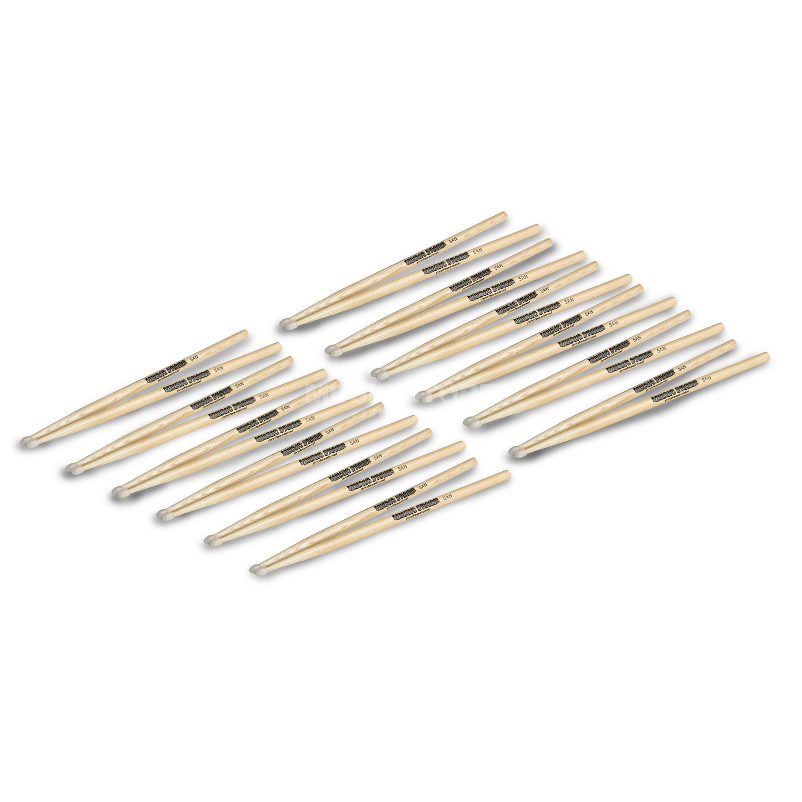 MUSIC STORE Sticks Bundle 12x 5AN - Set Produktbild