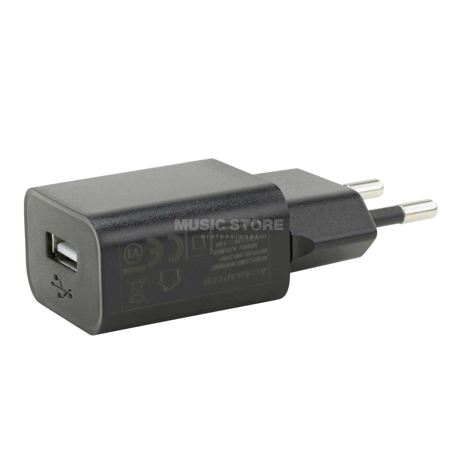 MUSIC STORE USB Power Supply with 1000mA 100-240V AC / 5V DC Produktbillede