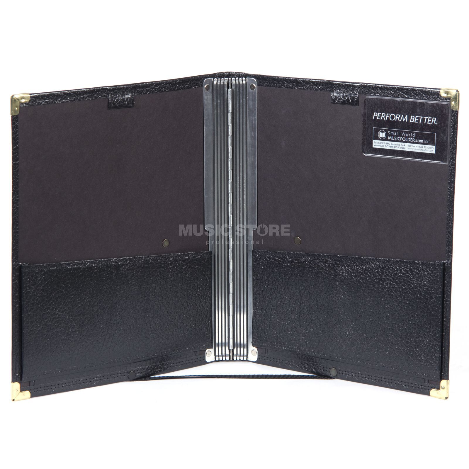 Musicfolder.com Black Folder Die ultimative Chormappe Produktbillede
