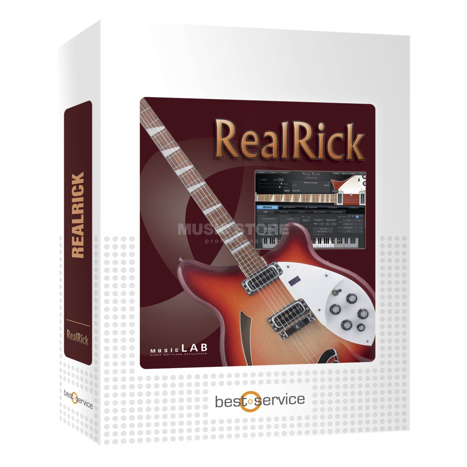 MusicLab RealRick /boxed  Produktbillede