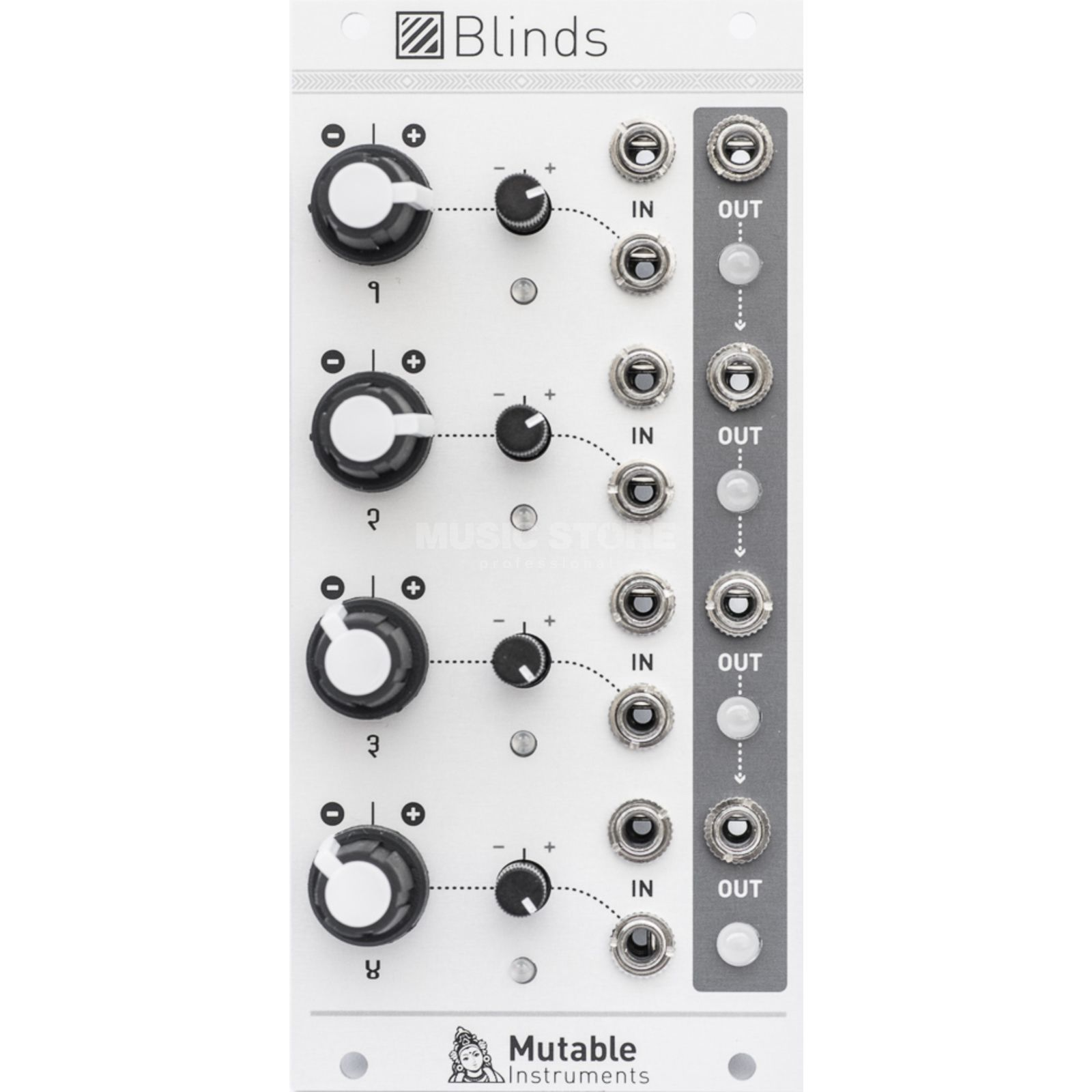 Mutable Instruments Blinds Quad VC-polarizer Produktbillede