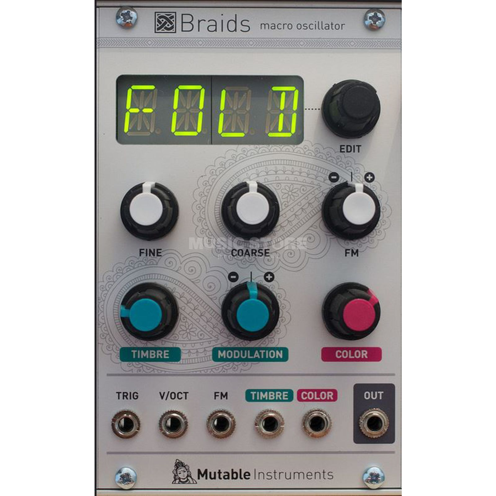 Mutable Instruments Braids Produktbild