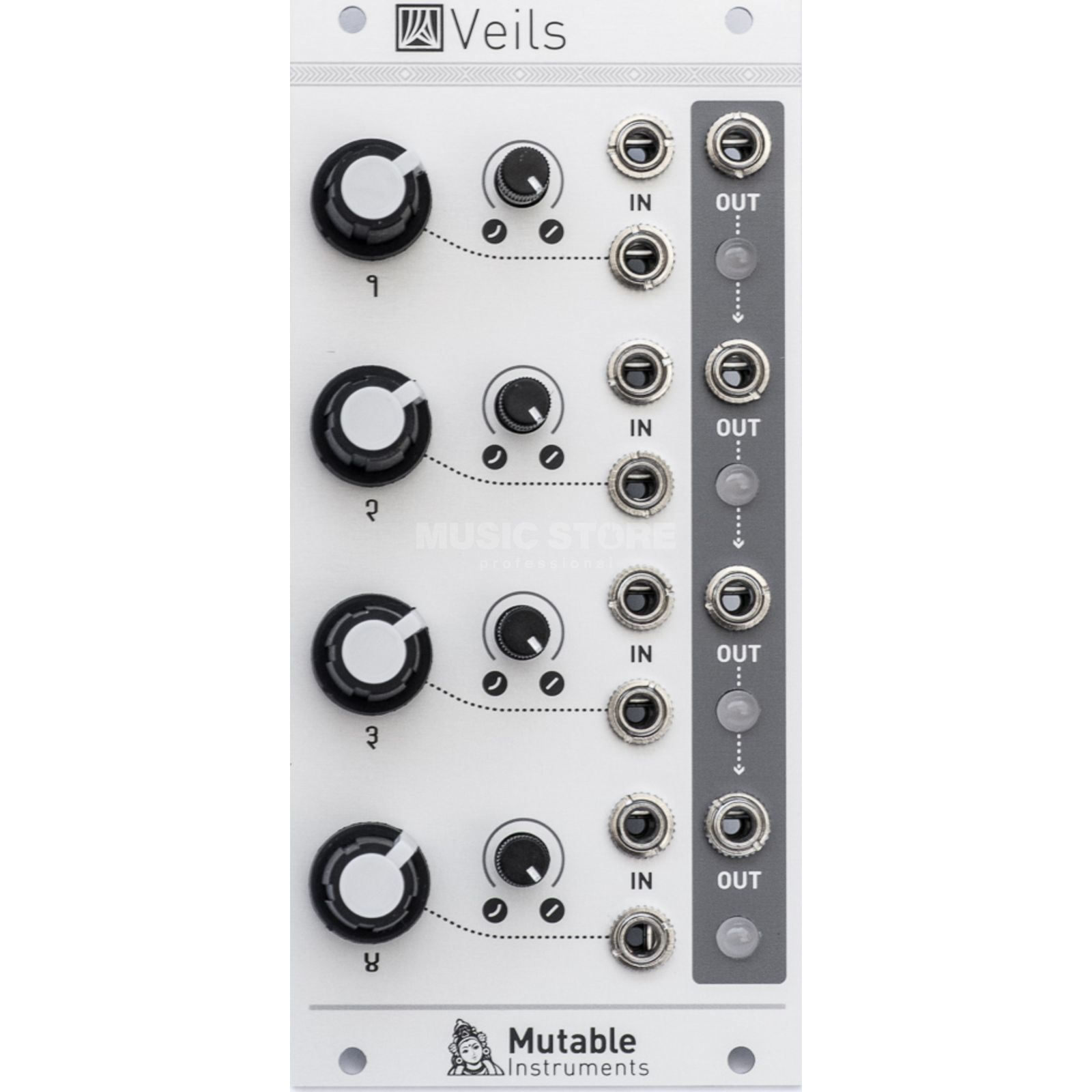 Mutable Instruments Veils Quad VCA Изображение товара