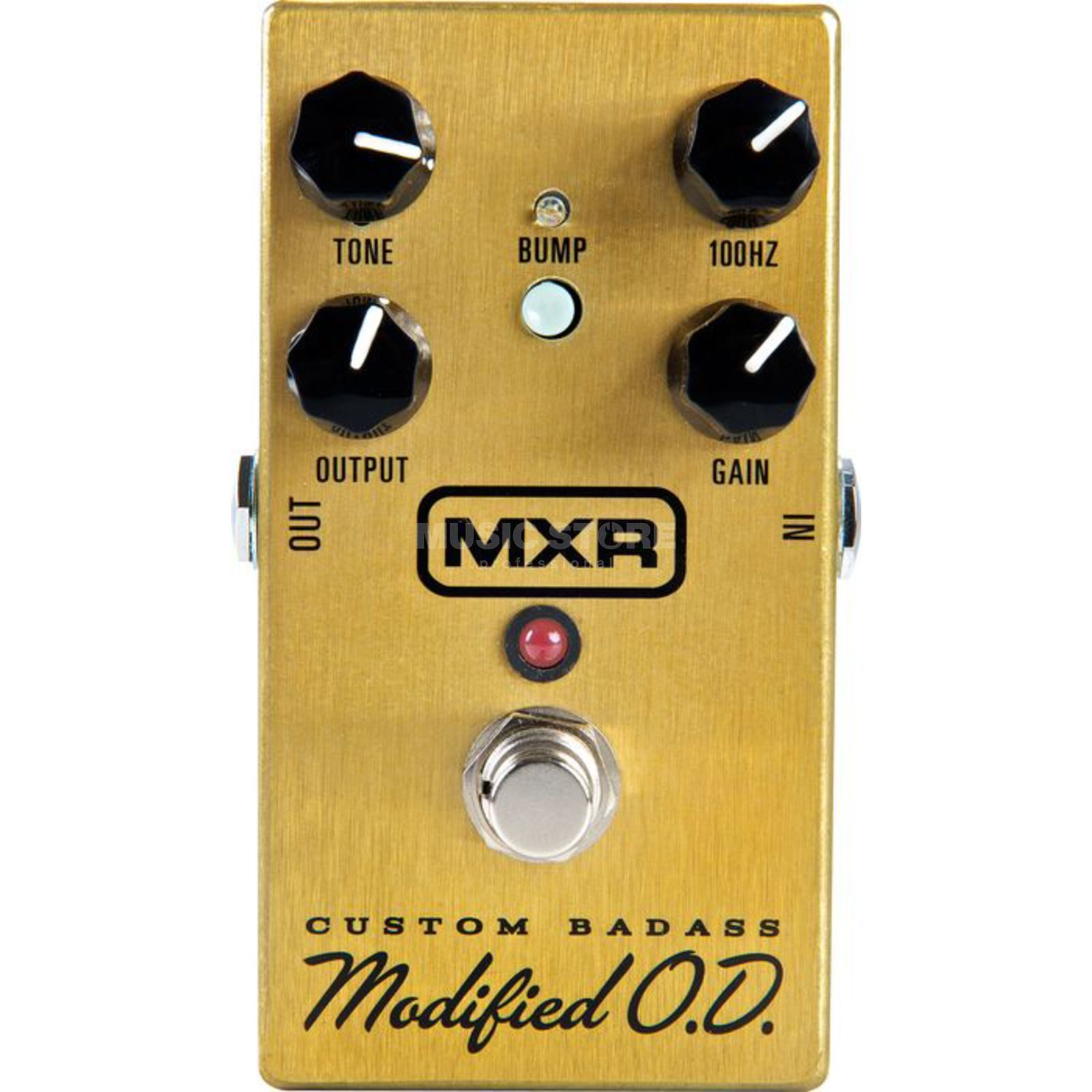 MXR Custom Badass Modified O.D. Gu itar Effects Pedal   Produktbillede