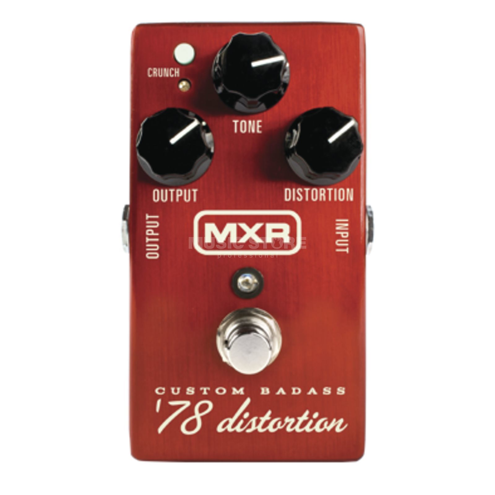 MXR M78 Custom Badass '78 Distorti on Guitar Effects Pedal   Produktbillede