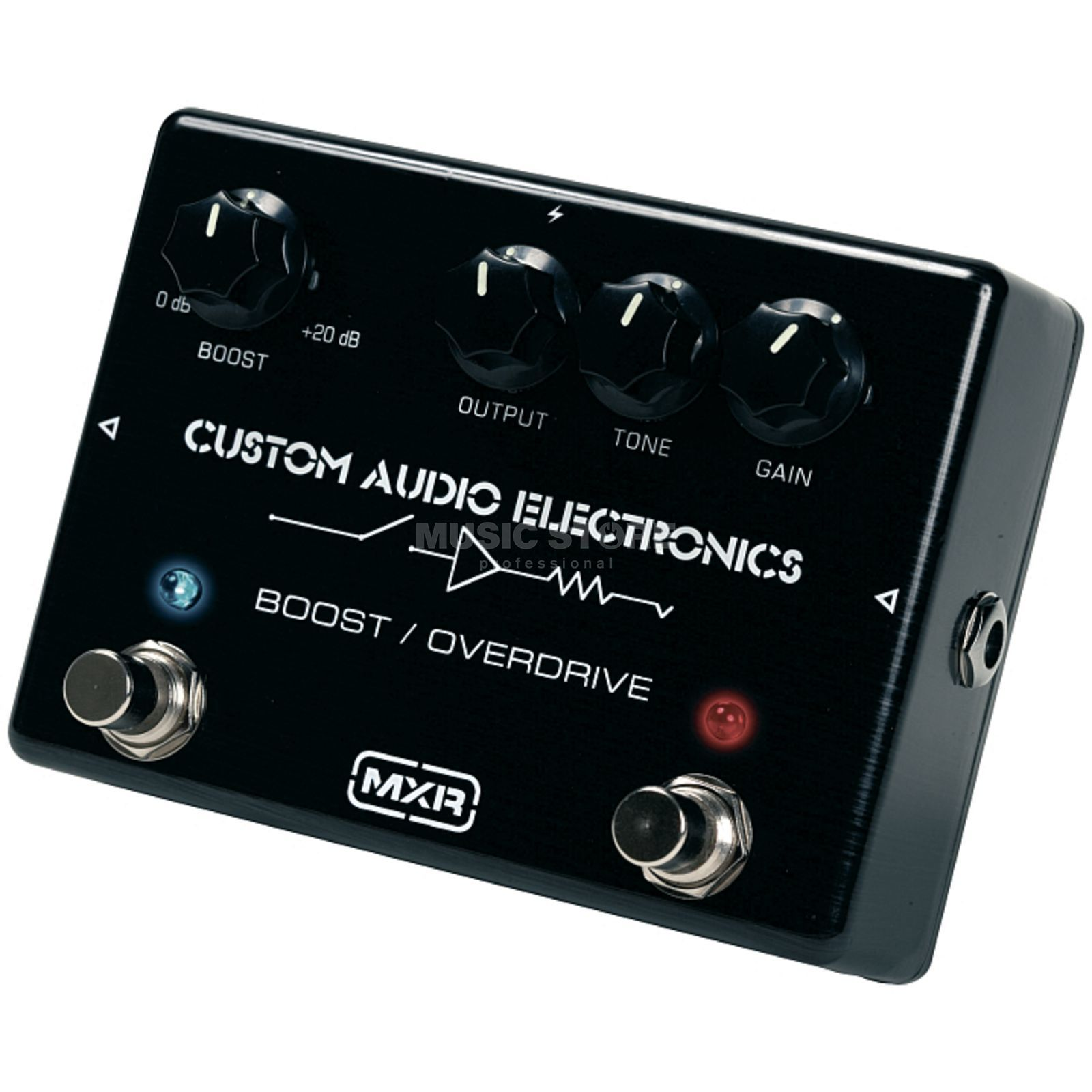 MXR MC402 Boost/Overdrive Custom Audio Electronics Produktbild