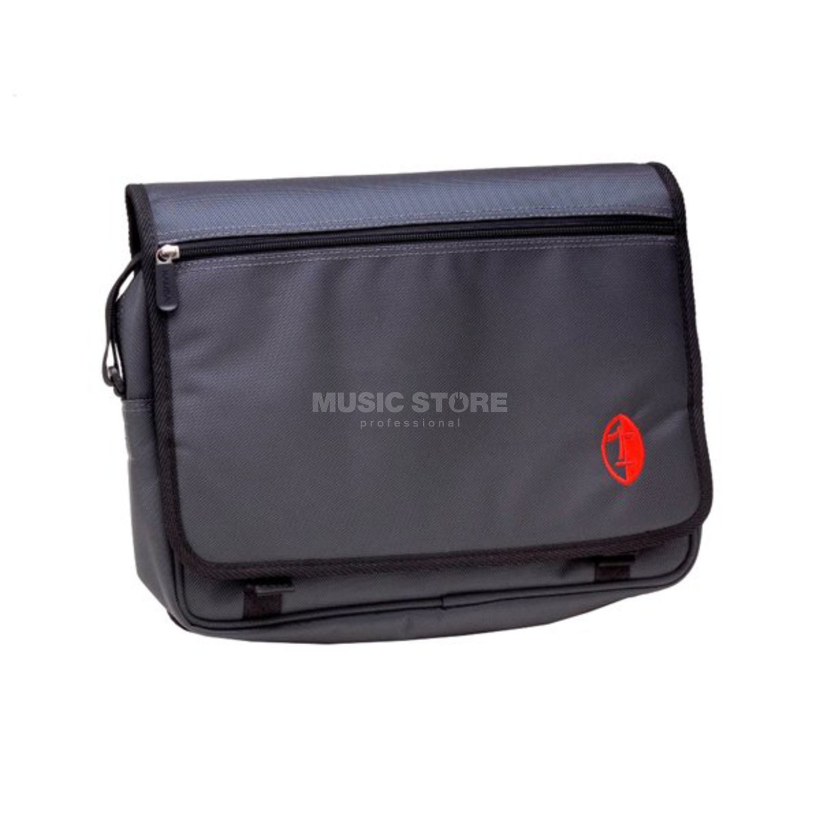 NAMBA GEAR Kucha iPad Messanger Bag dark grey/red Produktbillede