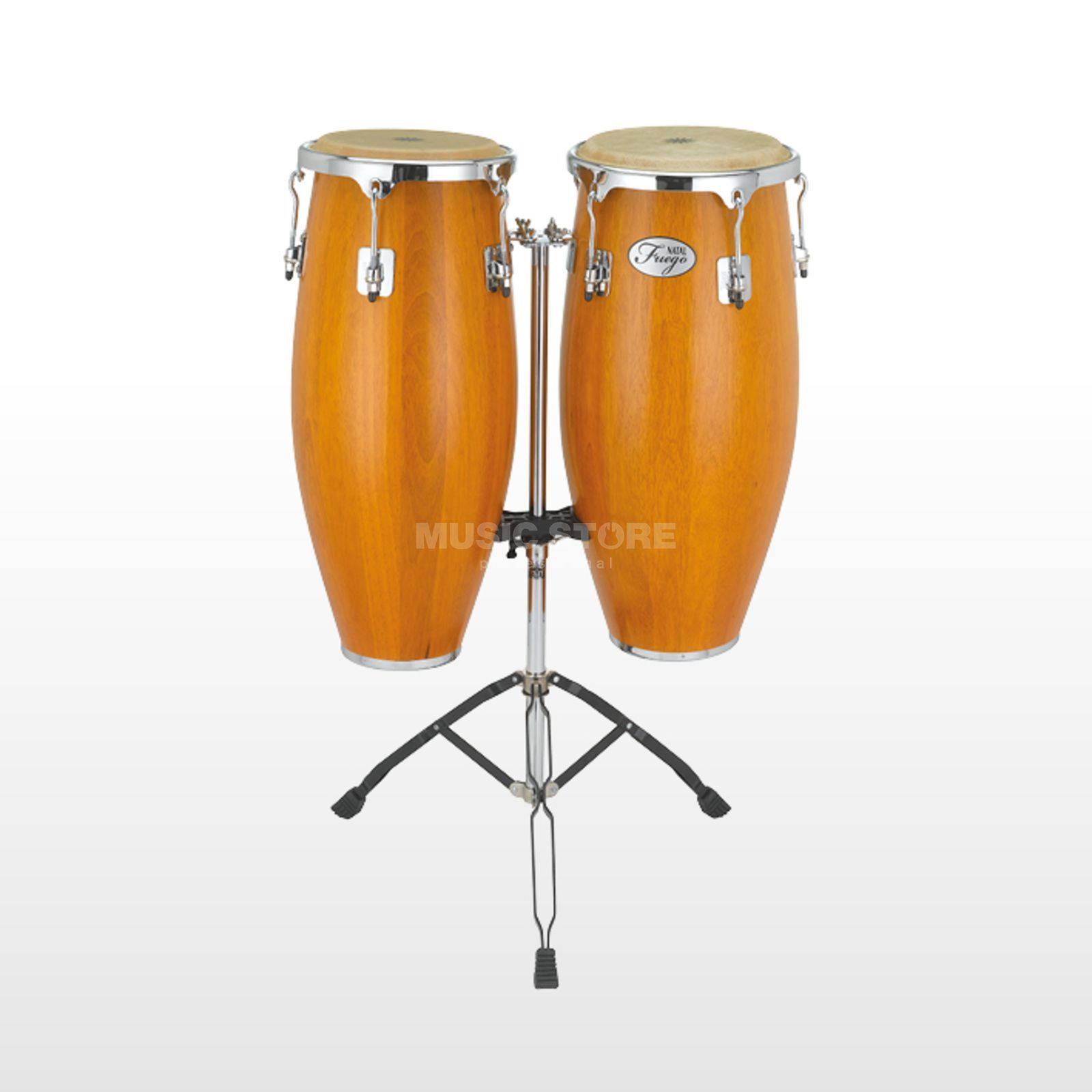 "Natal Fuego Wood Congas 10""&11"" Matt Honey Produktbild"