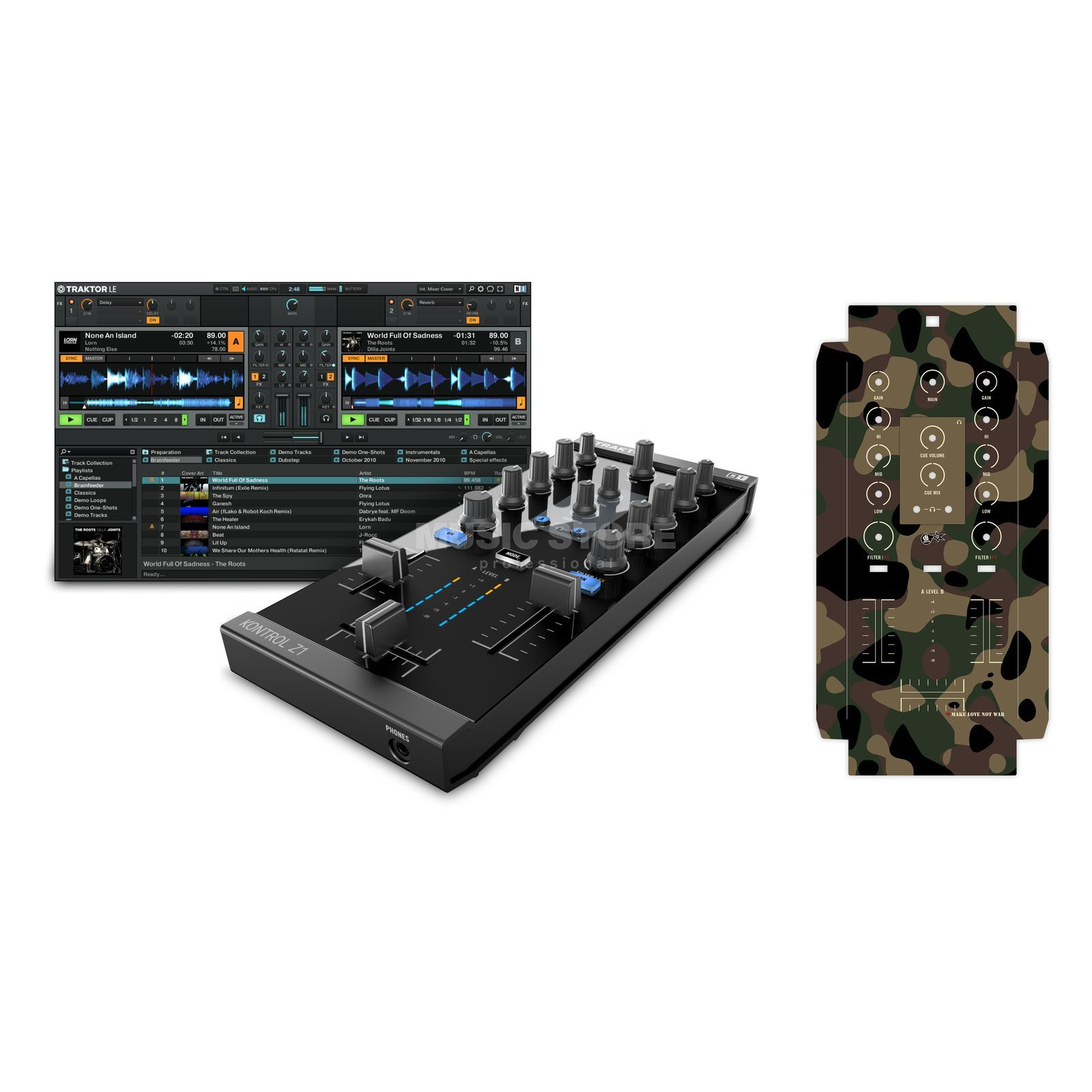 Native Instruments Kontrol Z1 + Skin 1 - Set Product Image