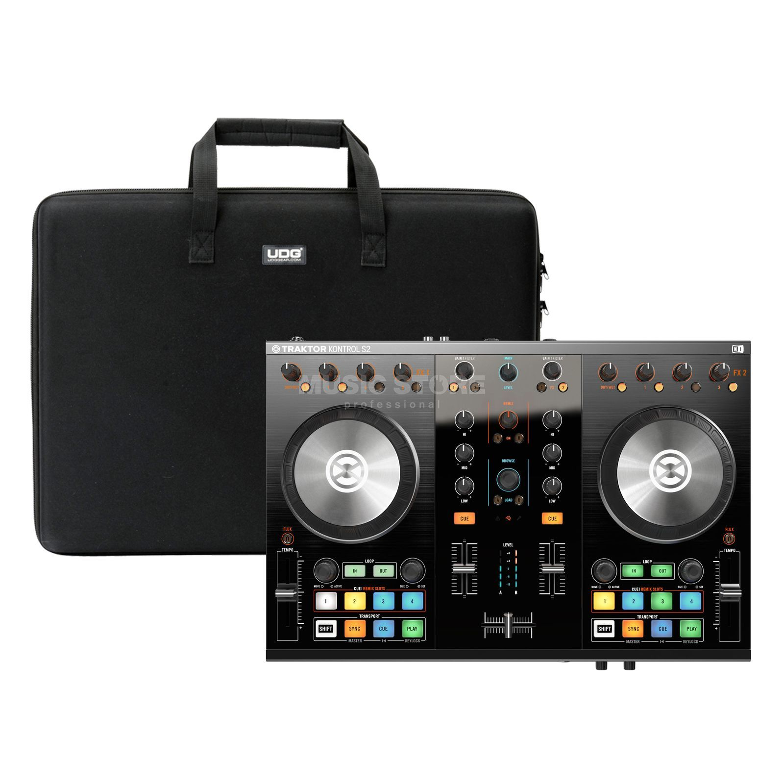 Native Instruments S2 MKII + Case (U8301BL) - Set Produktbild