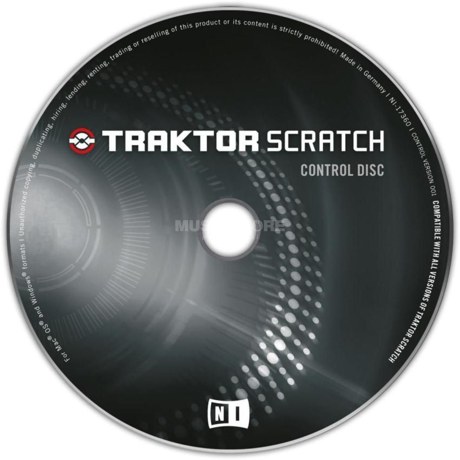 Native Instruments Traktor Control CD MK1  Scratch Pro (Old Version) Produktbild