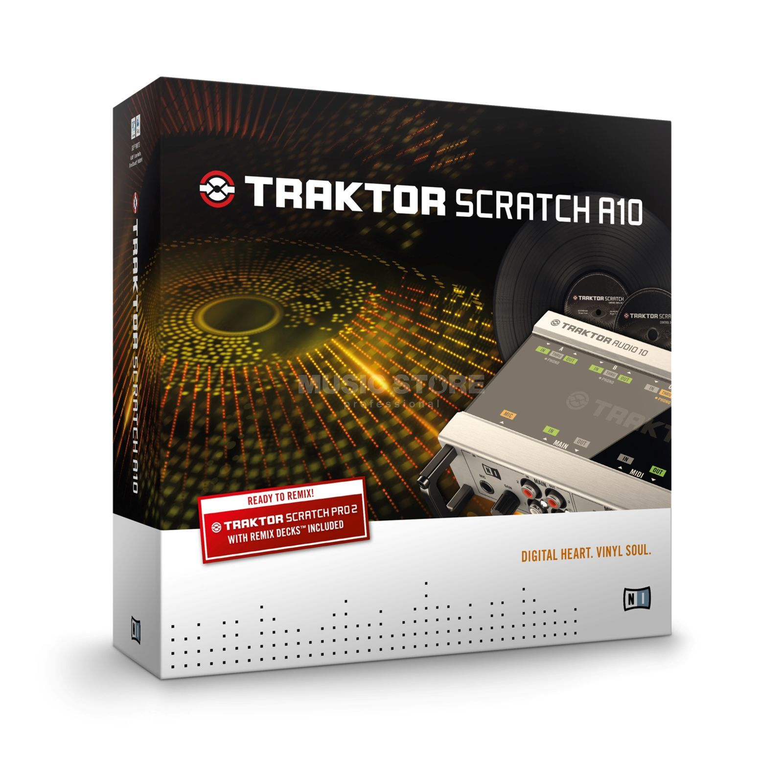 Native Instruments TRAKTOR Scratch A10 digitaal-Vinyl-systeem Productafbeelding