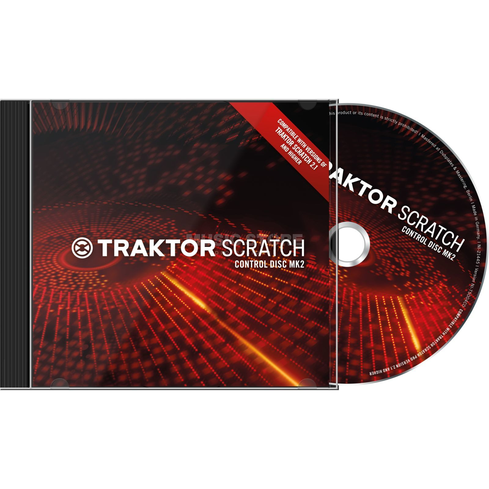 Native Instruments Traktor Scratch Control CD MK2  Produktbillede