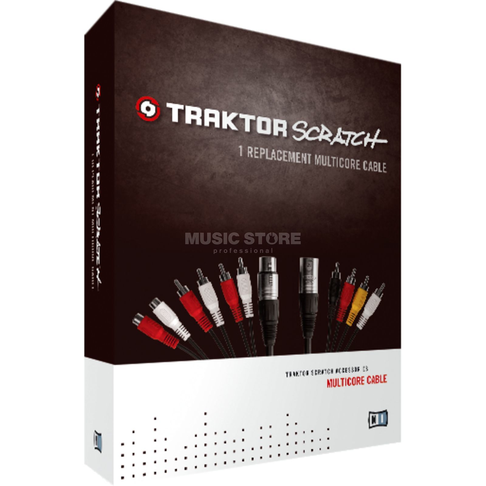 Native Instruments Traktor Scratch Multicabo 1x Replacement Set Cable Imagem do produto