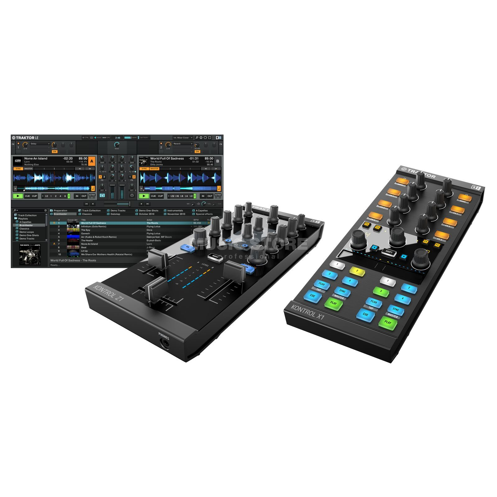 Native Instruments X1 MK2 + Z1 - Set Produktbild