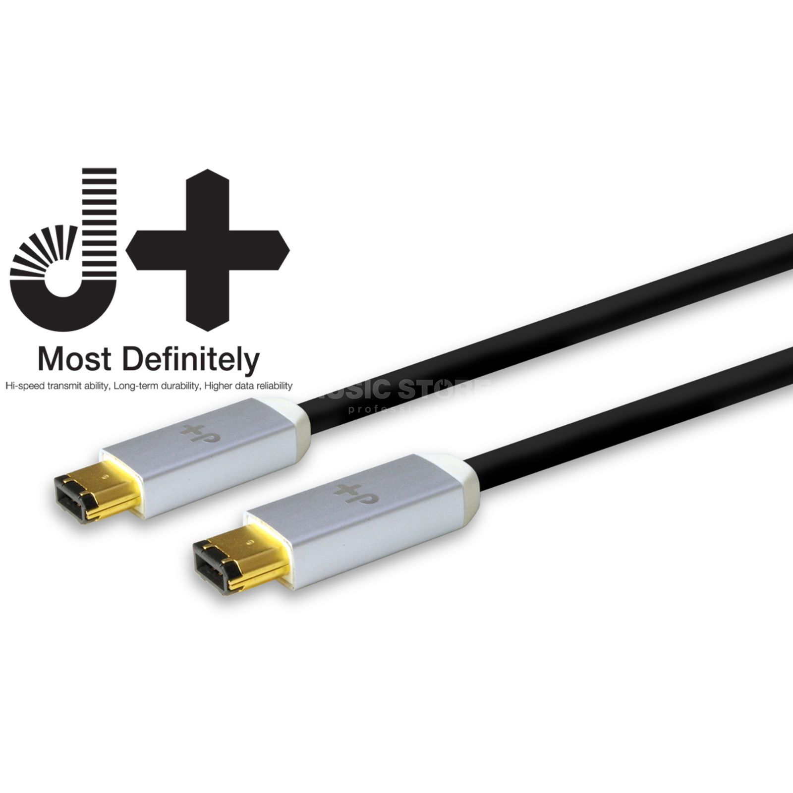 NEO by Oyaide d+ FireWire Kabel 6pin-6pin, (400-400), 2,0m Produktbild