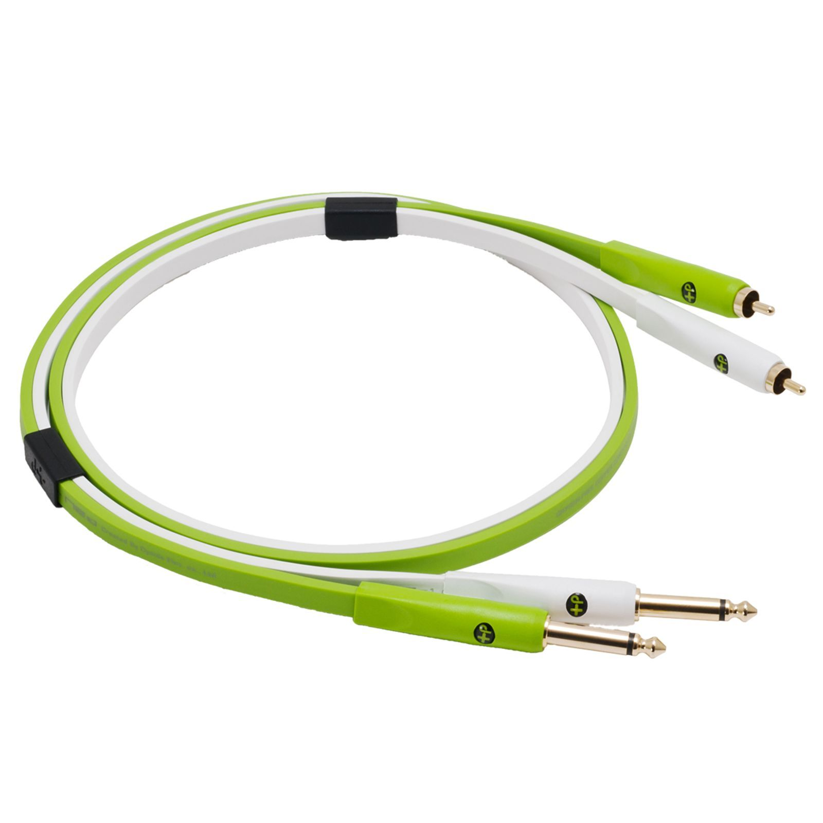 NEO by Oyaide d+ Stereo Cinch/2x6,3mm jack kabel, Class B, 1,0m lengte Productafbeelding