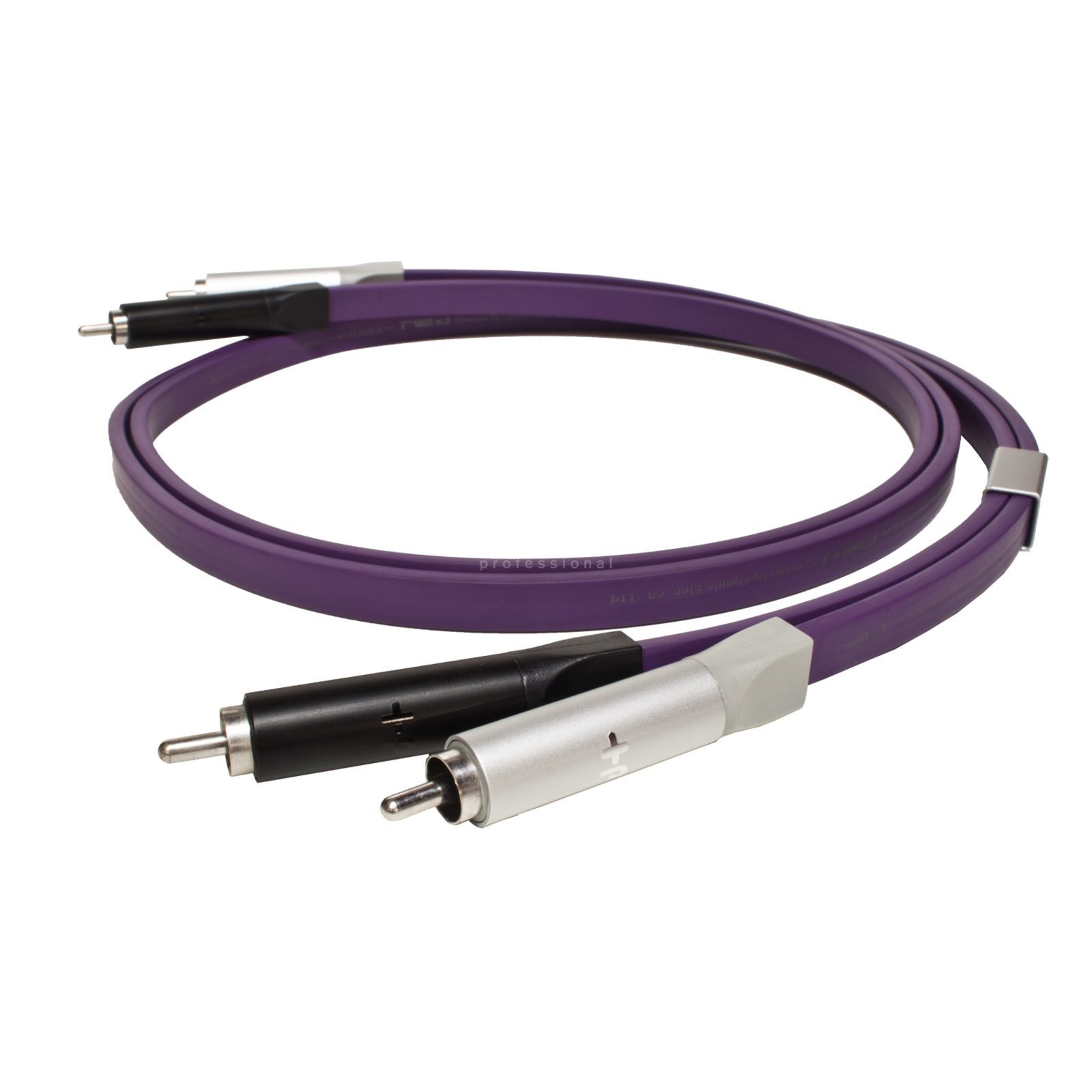 NEO by Oyaide d+ Stereo RCA Cable, Class S 1.0m Length incl. Bag Zdjęcie produktu