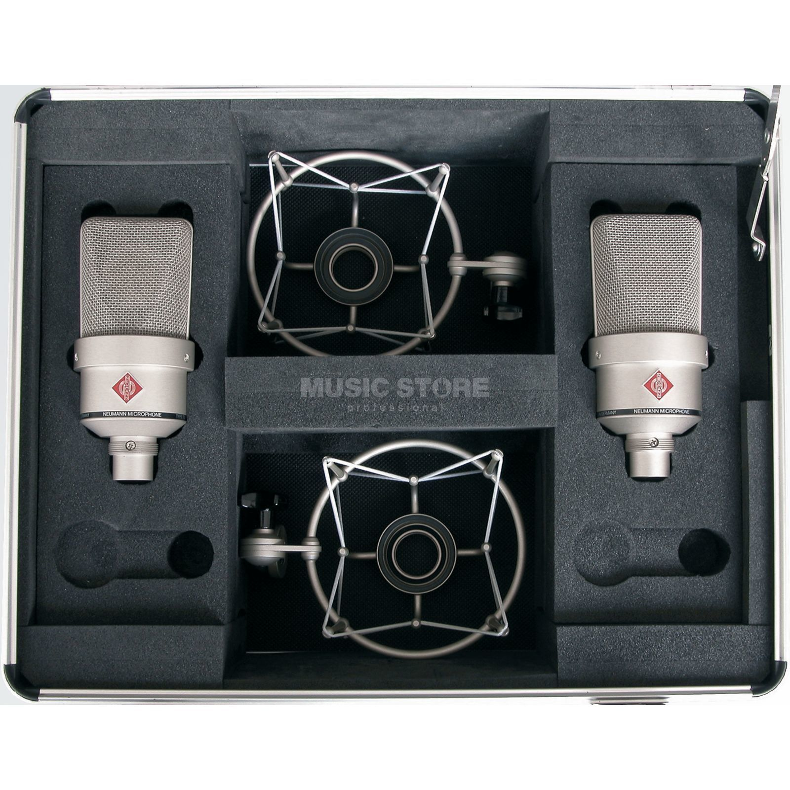 Neumann TLM 103 ni Stereo-Set nickel 2xMicro/2x EA1 El.Holder/Case Product Image