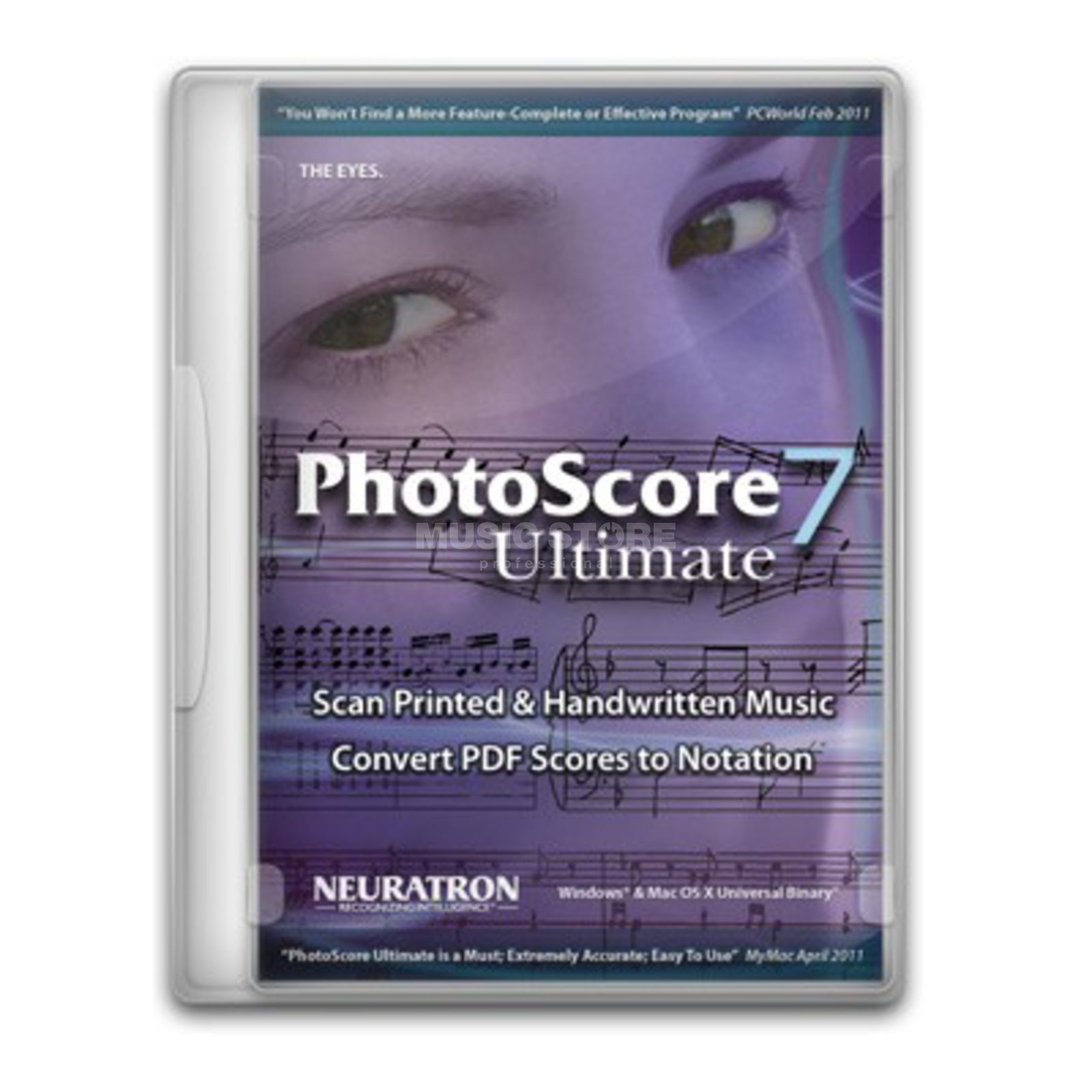Neuratron Photoscore Ultimate 7 english Produktbild